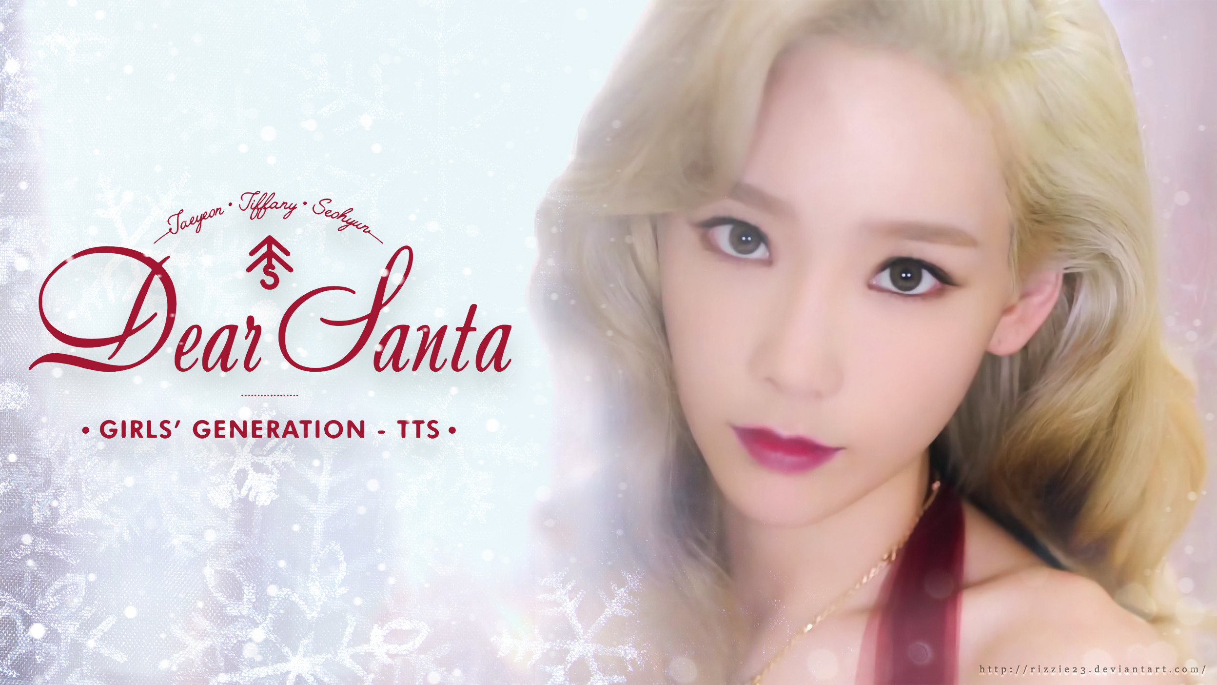 Res: 2496x1404, Taeyeon Dear Santa Wallpaper by Rizzie23 Taeyeon Dear Santa Wallpaper by  Rizzie23