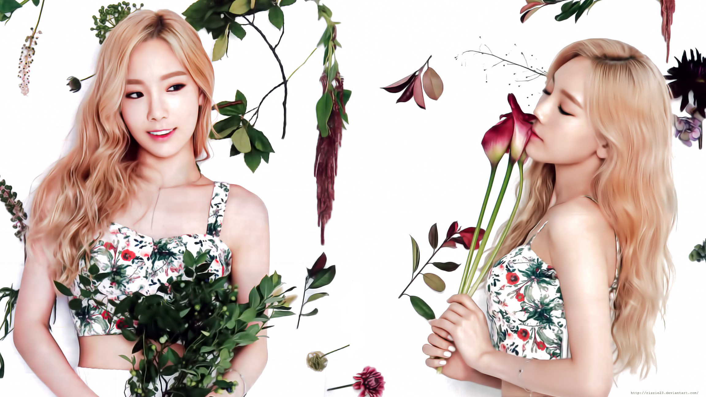 Res: 2304x1296, ... 2016 Season's Greetings Wallpaper (Taeyeon) by Rizzie23