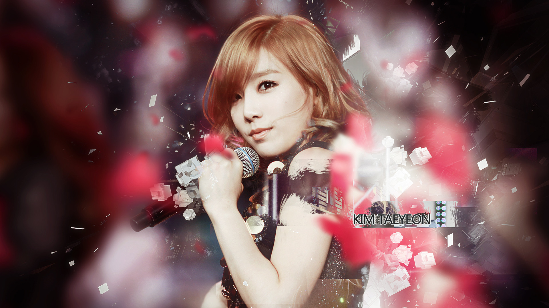 Res: 1920x1080, ... SNSD The Boys Kim Taeyeon by UberzErO