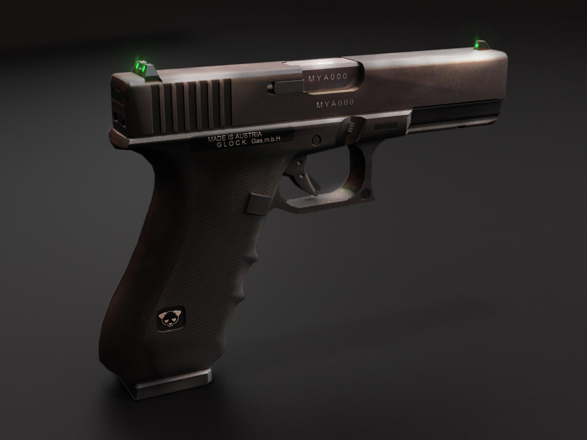 Res: 2048x1536, Glock 17 by TheBadPanda2 Glock 17 by TheBadPanda2