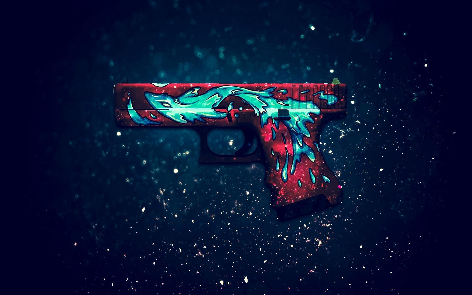 Res: 1920x1200, Glock Wallpaper Luxury Glock 18 Water Elemental Full Hd Wallpaper .