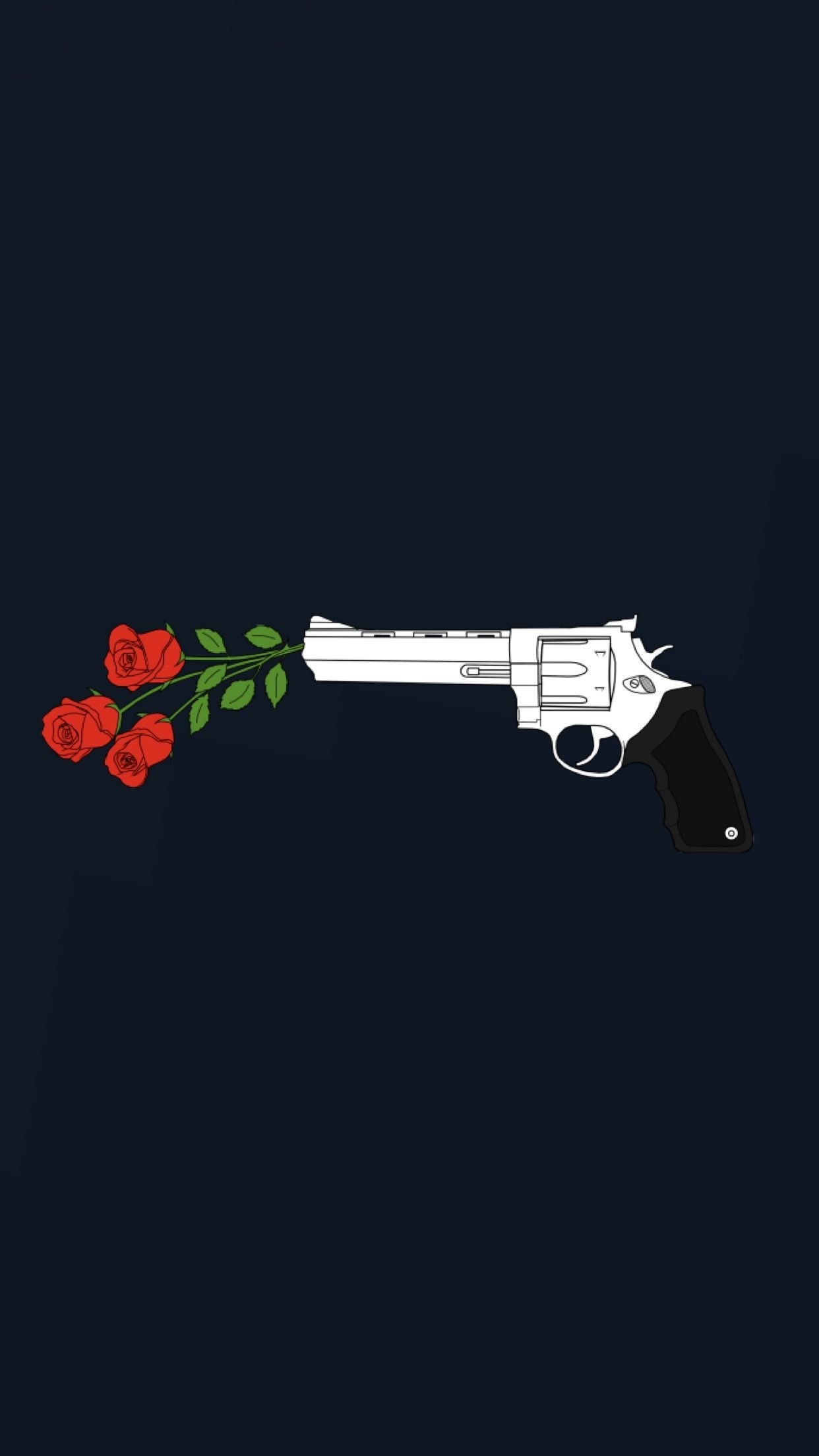 Res: 1242x2208, Kill them with roses wallpaper | made by Laurette |  instagram:@laurette_evonen
