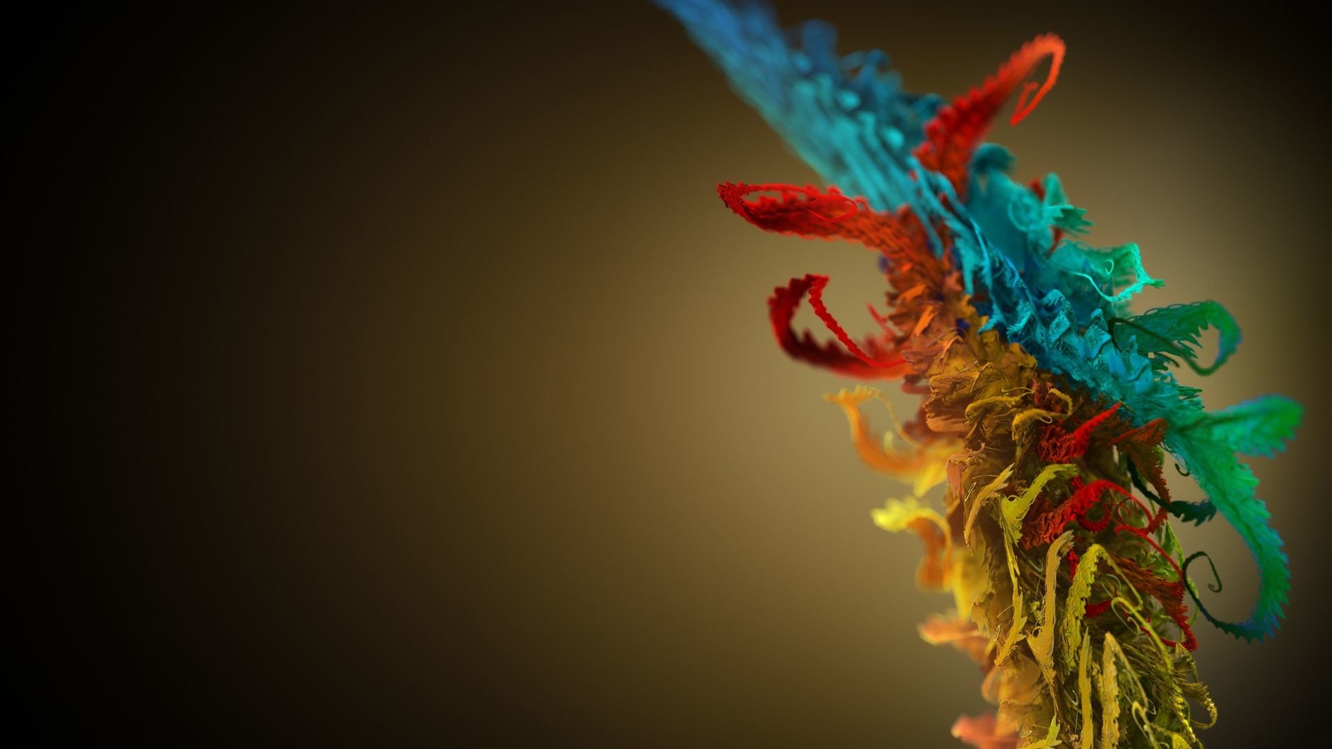 Res: 1920x1080, 3D Color Splash In The Space | HD 3D and Abstract Wallpaper Free Download  ...