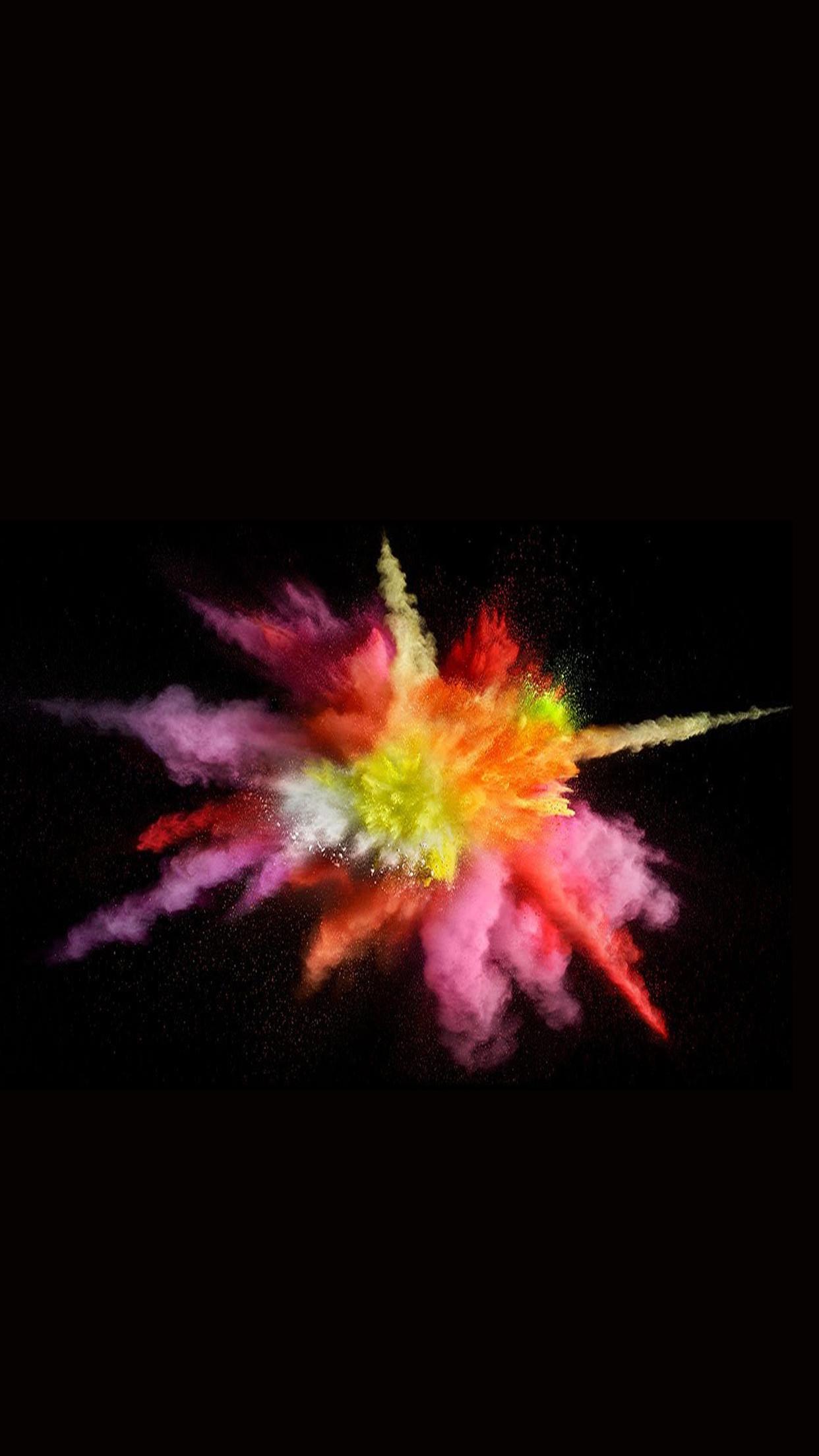 Res: 1242x2208, MacBook Pro Color Splash