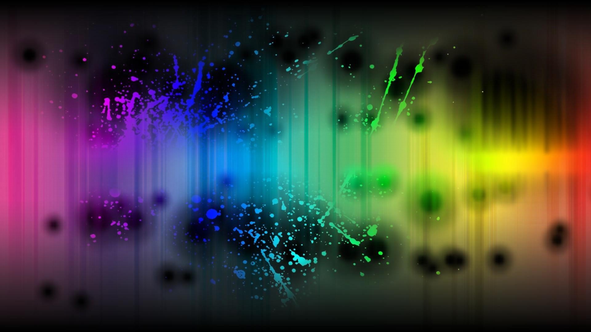 Res: 1920x1080, Color Splash Wallpaper.