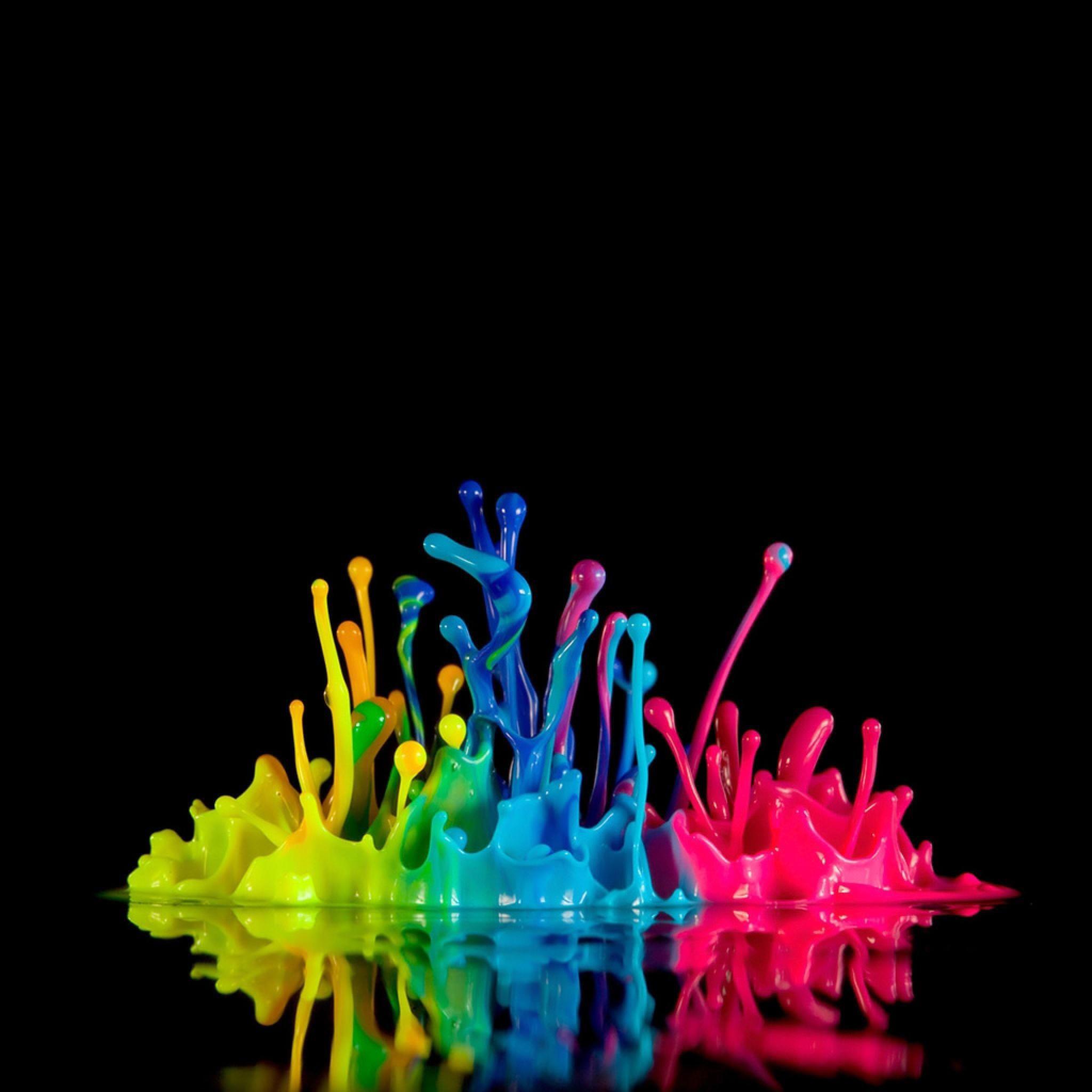 Res: 2048x2048, Neon Color Splash Colorful x3cbx3eneonx3c/bx3e backgrounds -
