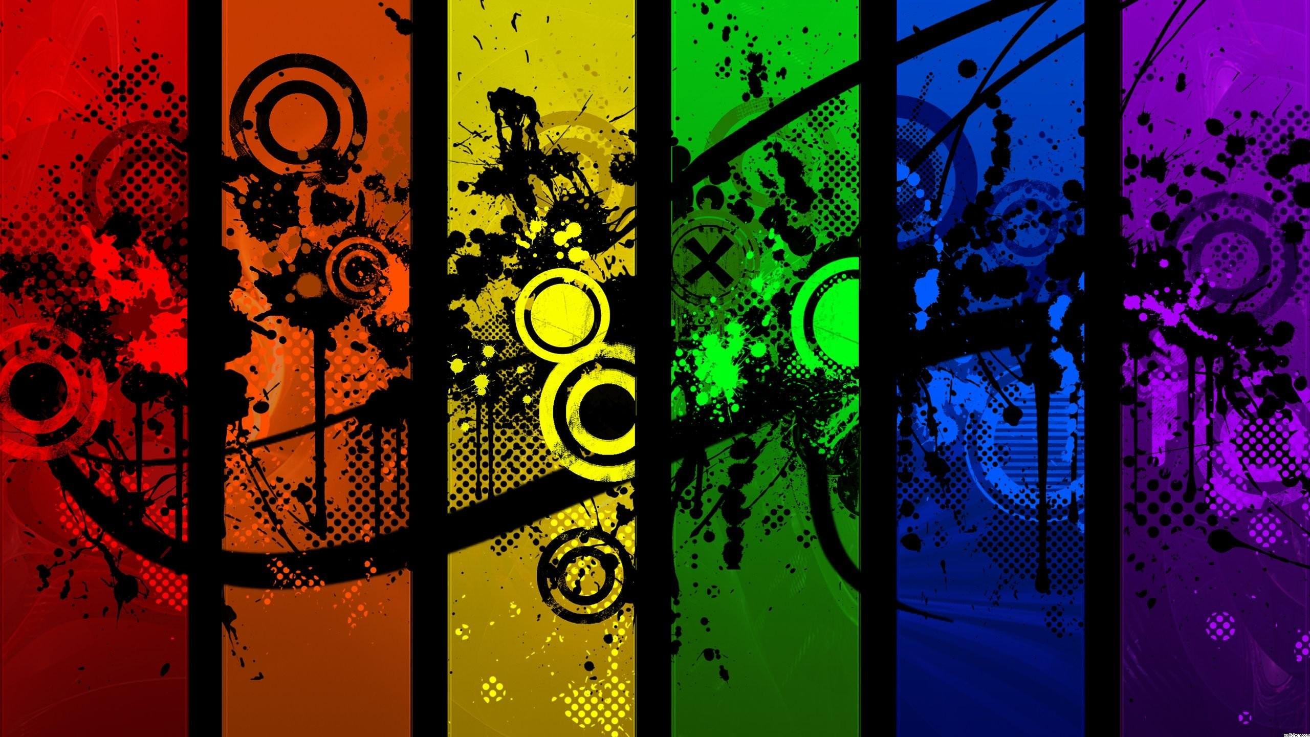Res: 2560x1440, Color Splash Wallpaper - WallpaperSafari