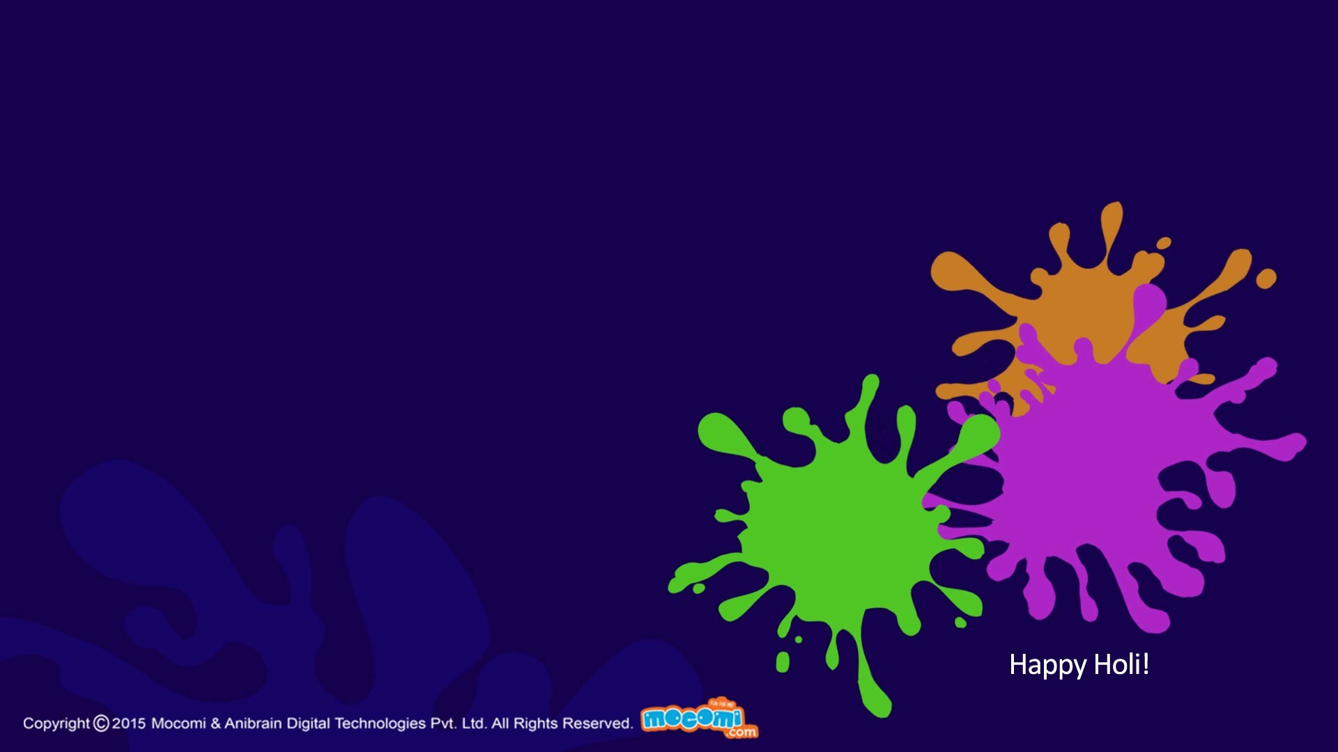 Res: 1920x1080, Holi Colour Splash. Â«