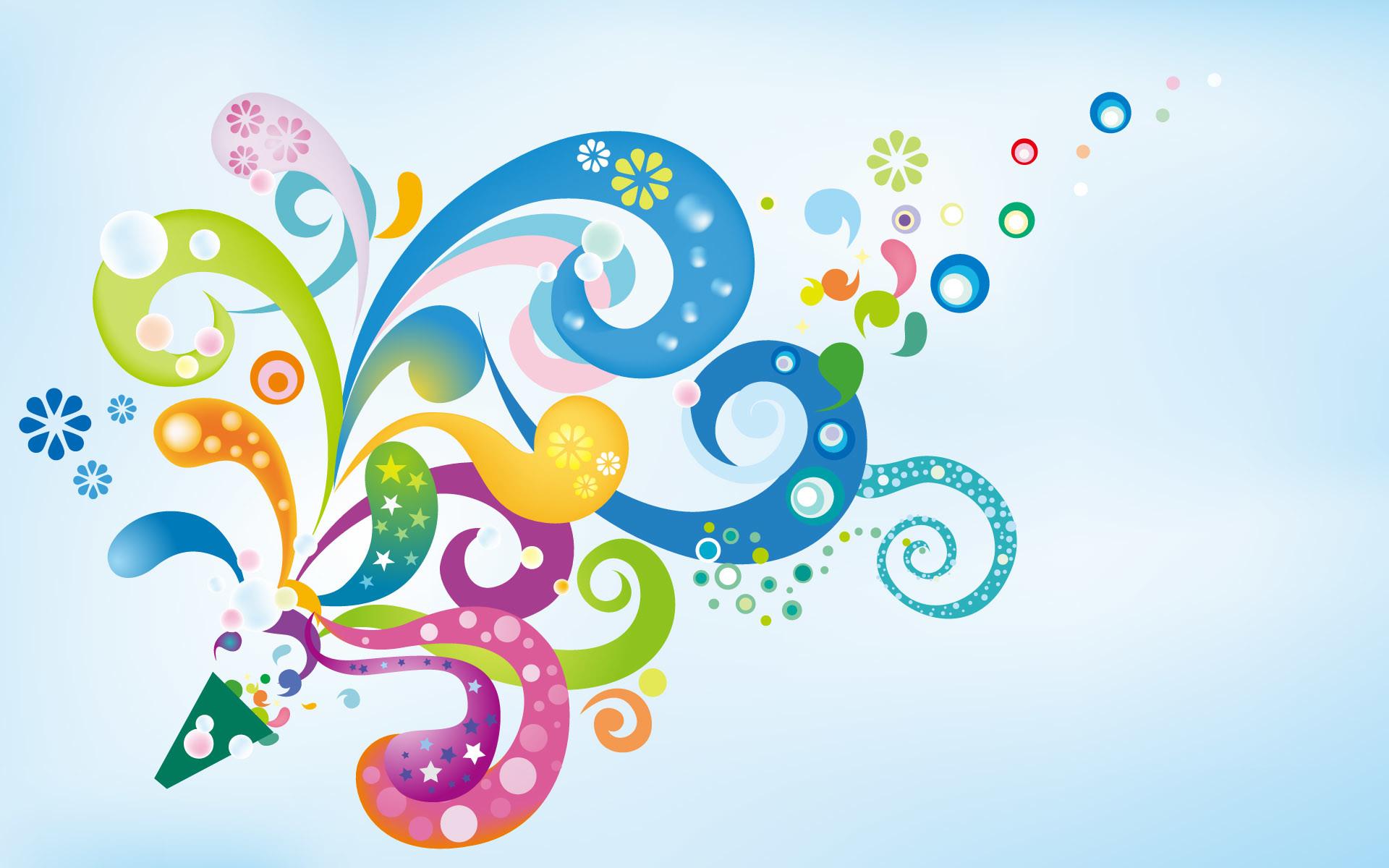 Res: 1920x1200, Floral Color Splash