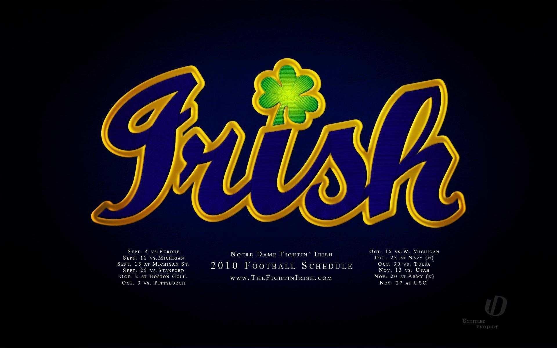 Res: 1920x1200, Notre Dame Fighting Irish Wallpaper Hd Desktop For