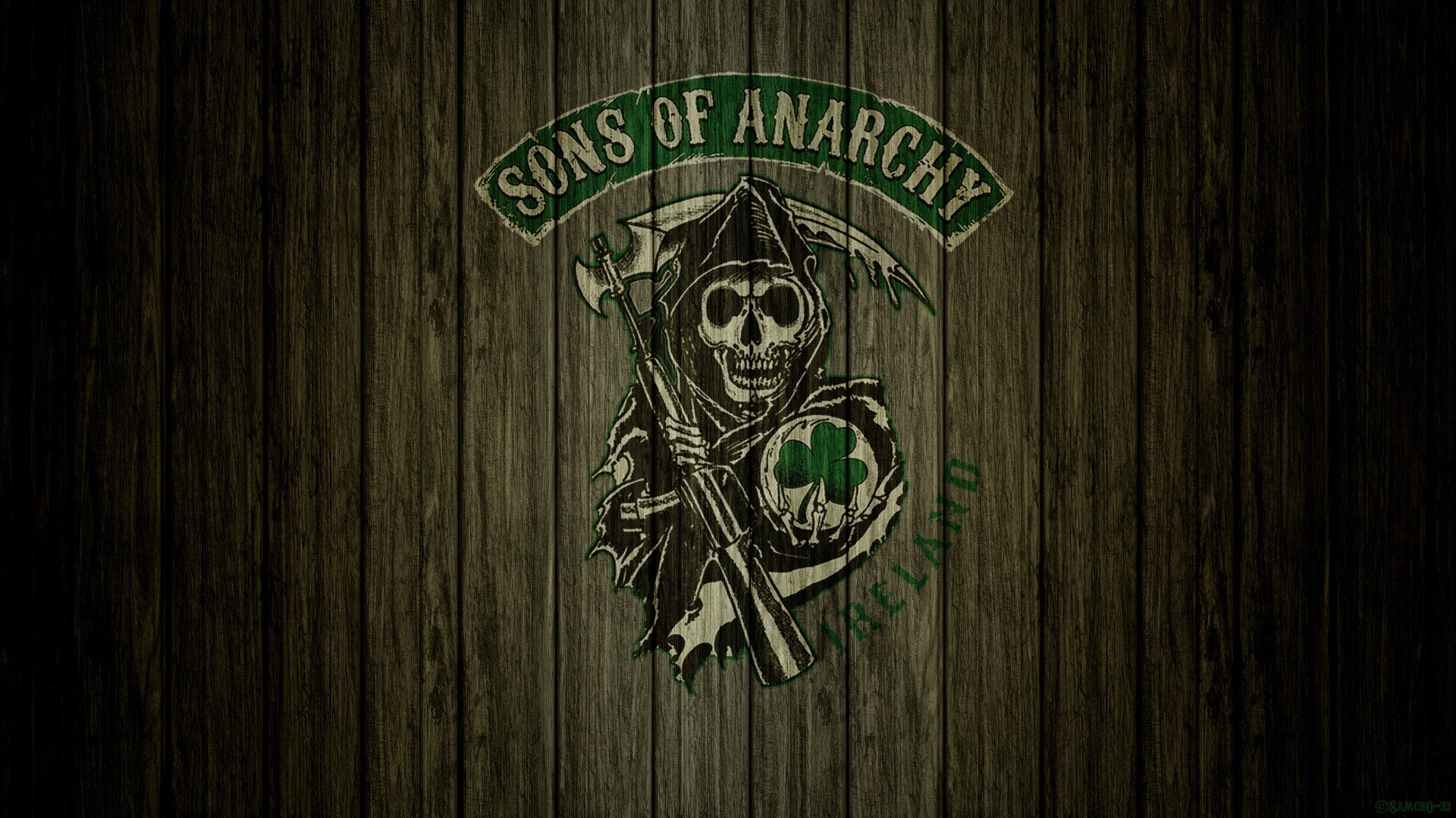 Res: 1920x1080, Sons Of Anarchy Irish Logo