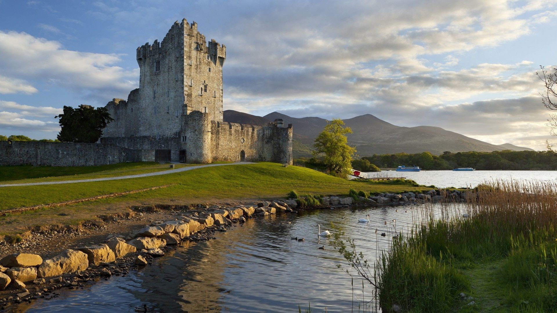 Res: 1920x1080, ... Wallpapers For > Irish Castle Wallpaper ...