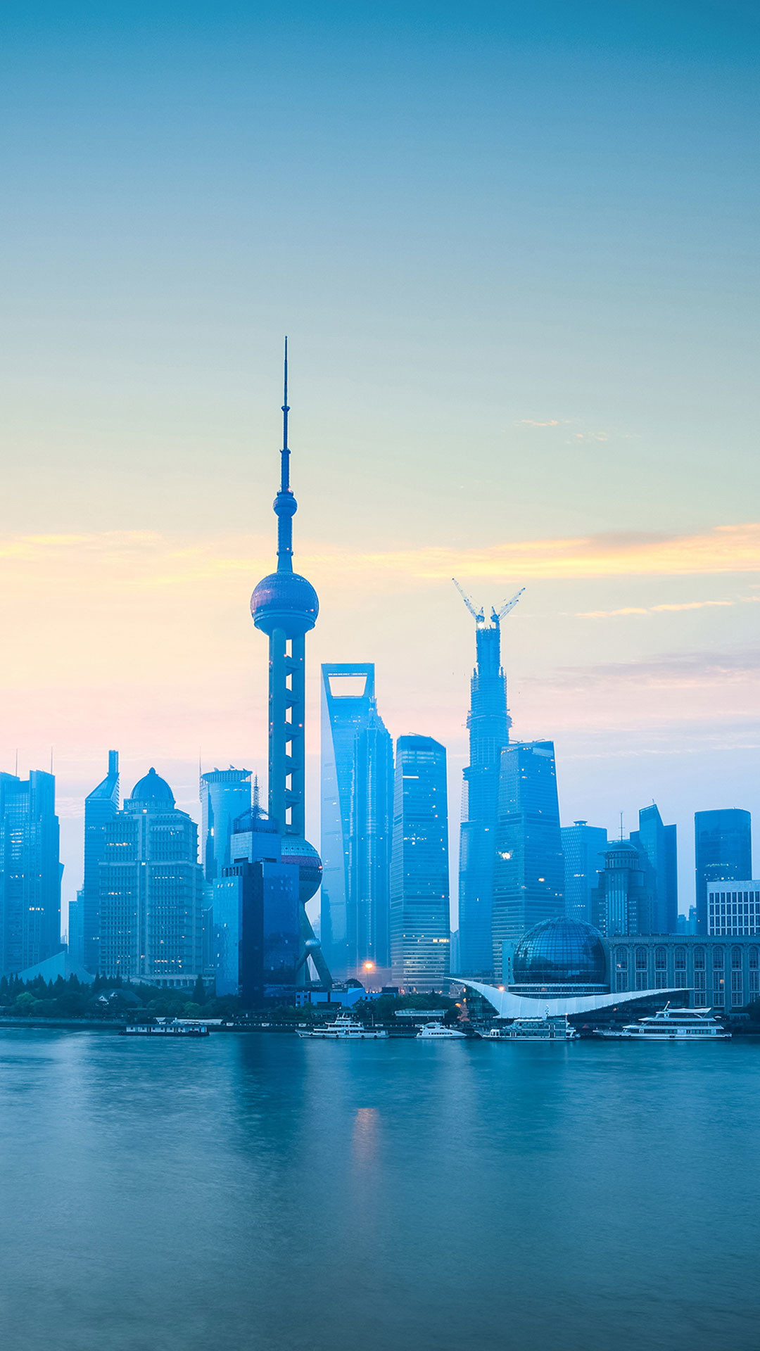 Res: 1080x1920, ... The-bund-of-shanghai-china-iPhone-6S-Plus- ...