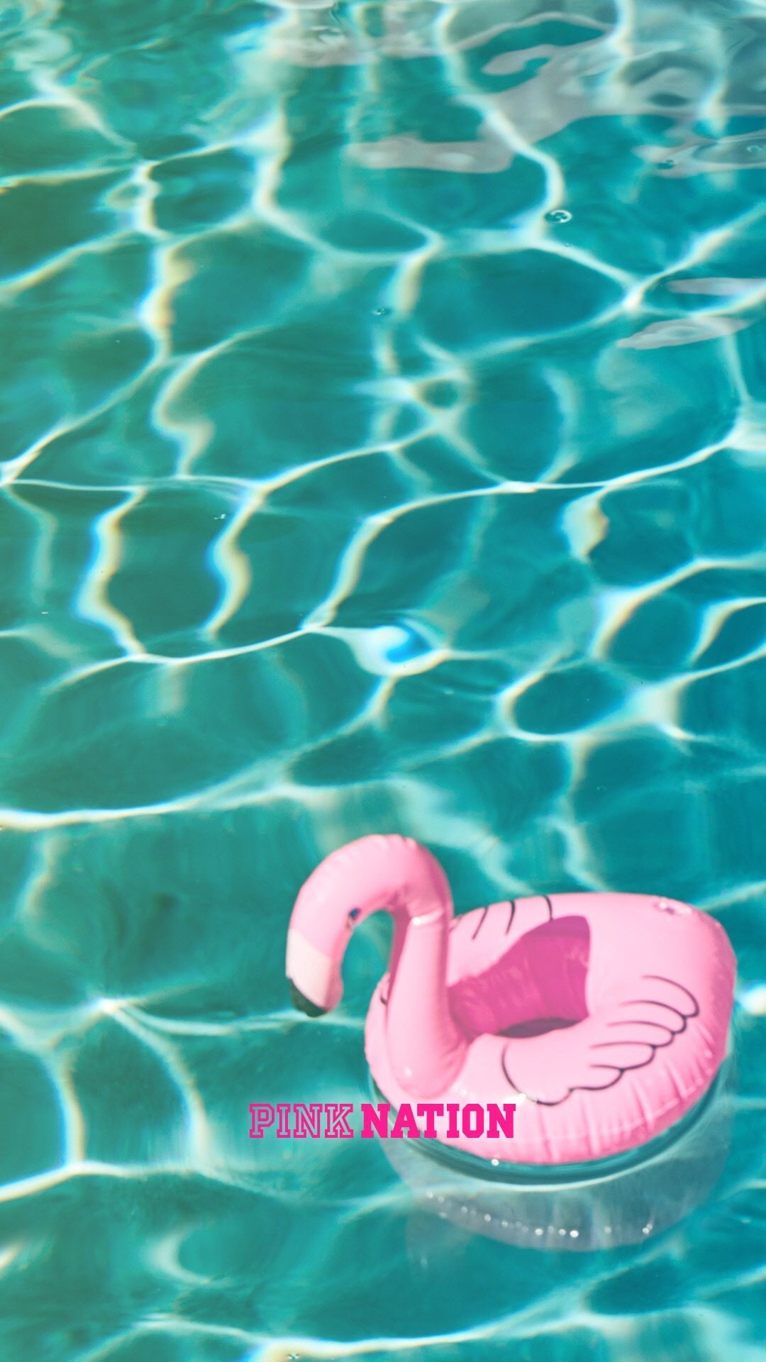 Res: 1080x1920, Victoria's Secret pink wallpaper iPhone background nation 2018 spring break  flamingo pool vibes water