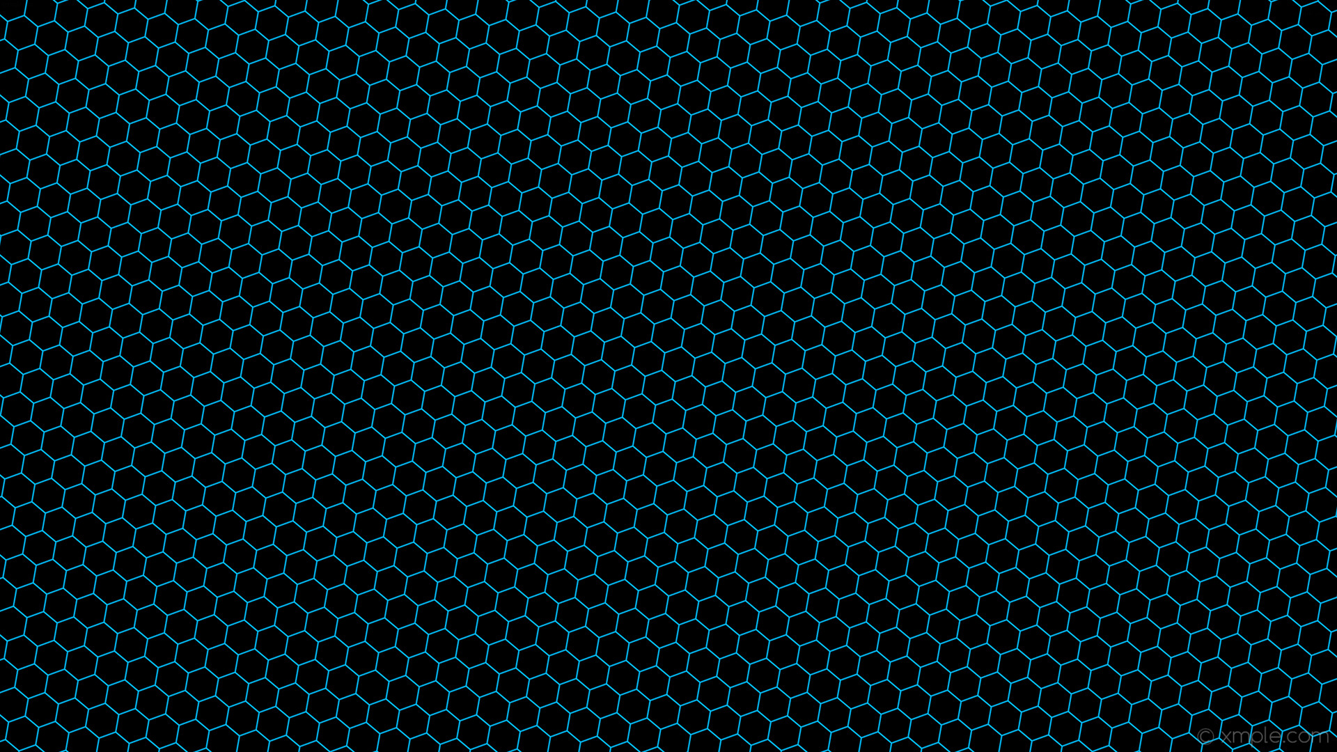 Res: 1920x1080, wallpaper honeycomb blue beehive hexagon black deep sky blue #000000  #00bfff diagonal 50°
