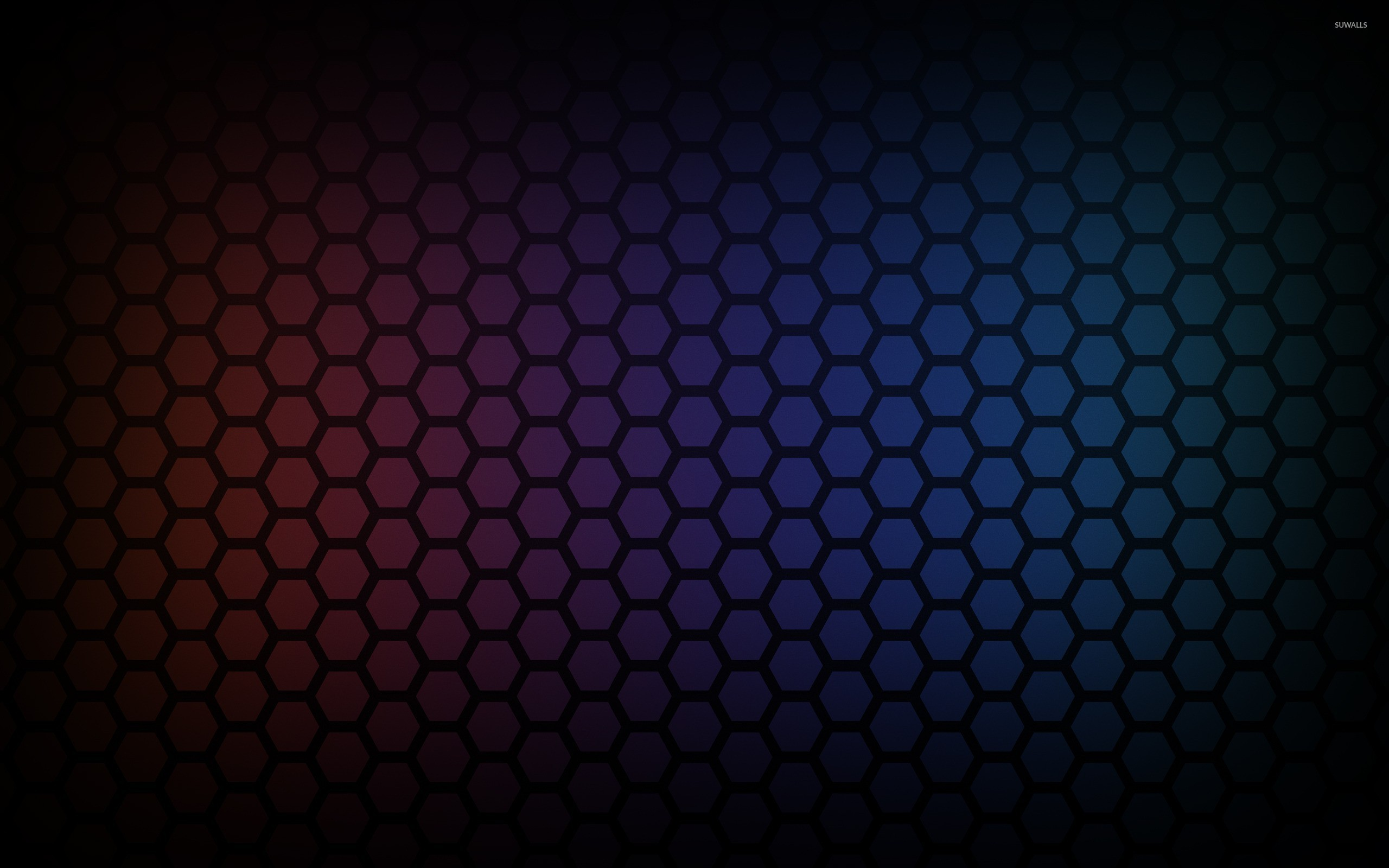 Res: 2560x1600, Honeycomb pattern [3] wallpaper