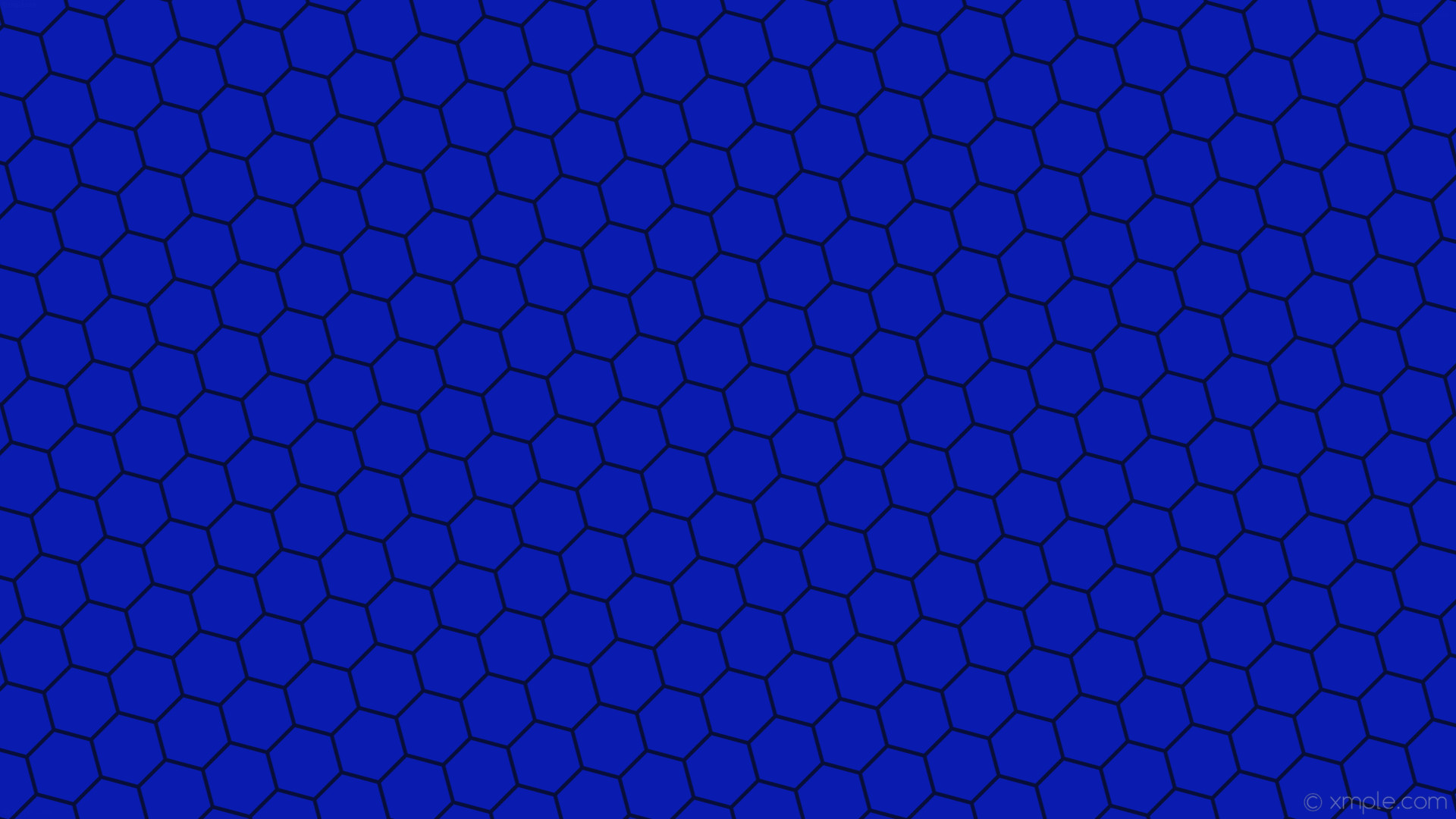 Res: 1920x1080, wallpaper hexagon honeycomb blue beehive dark blue #091caf #080e3a diagonal  15° 5px 88px