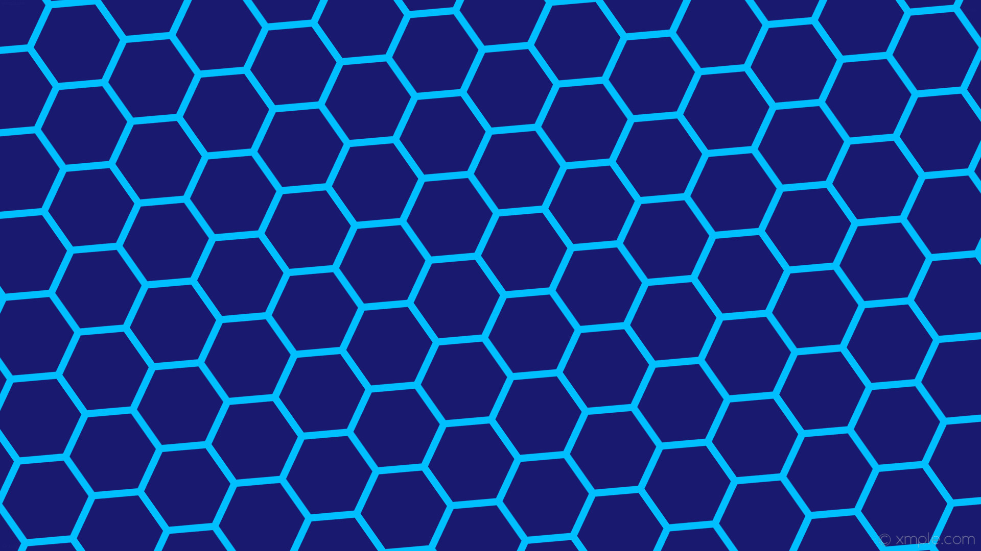 Res: 1920x1080, wallpaper hexagon blue honeycomb beehive midnight blue deep sky blue  #191970 #00bfff diagonal 35