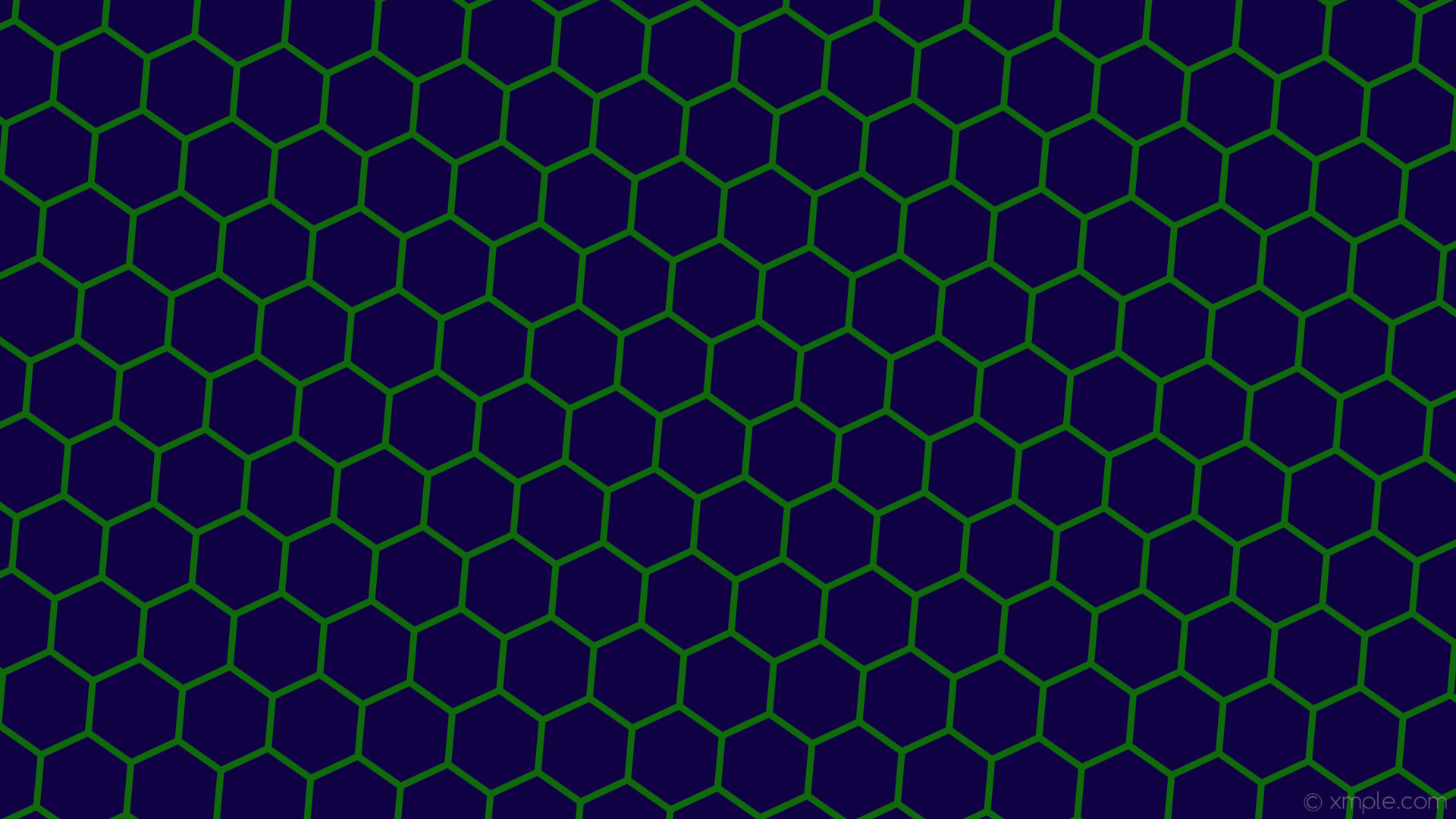 Res: 1920x1080, wallpaper blue honeycomb green hexagon beehive dark blue #100044 #106a0b  diagonal 55° 9px