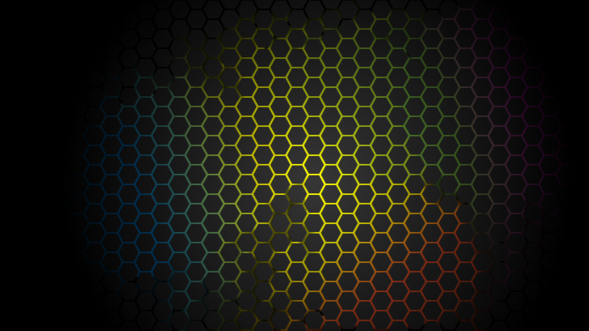 Res: 1920x1080, neon honeycomb wallpaper by k3nny94 customization wallpaper abstract