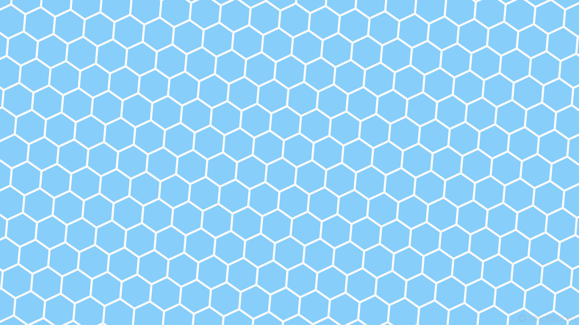 Res: 1920x1080, wallpaper beehive hexagon honeycomb blue white light sky blue snow #87cefa  #fffafa diagonal 55