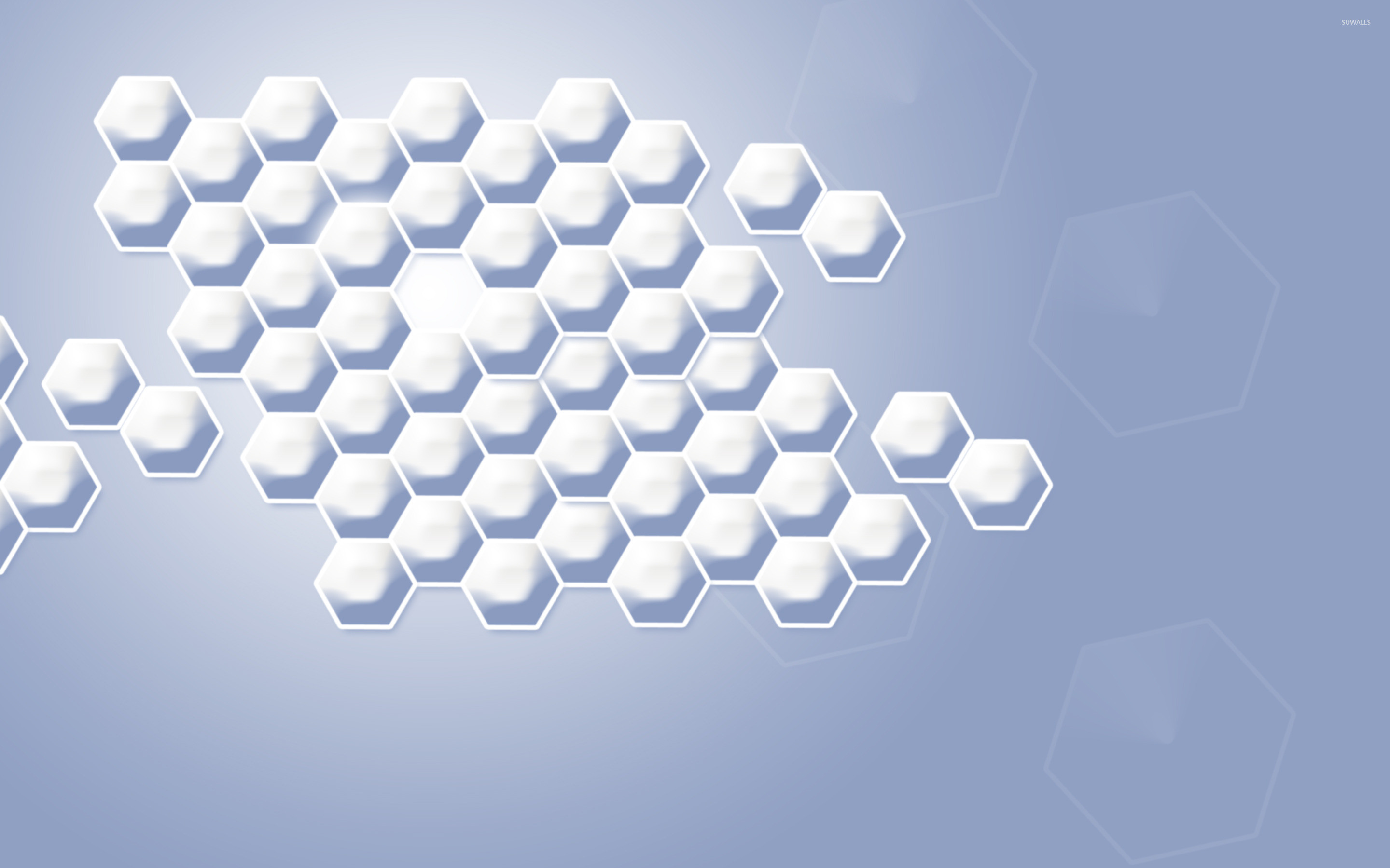 Res: 2880x1800, Silver honeycomb wallpaper