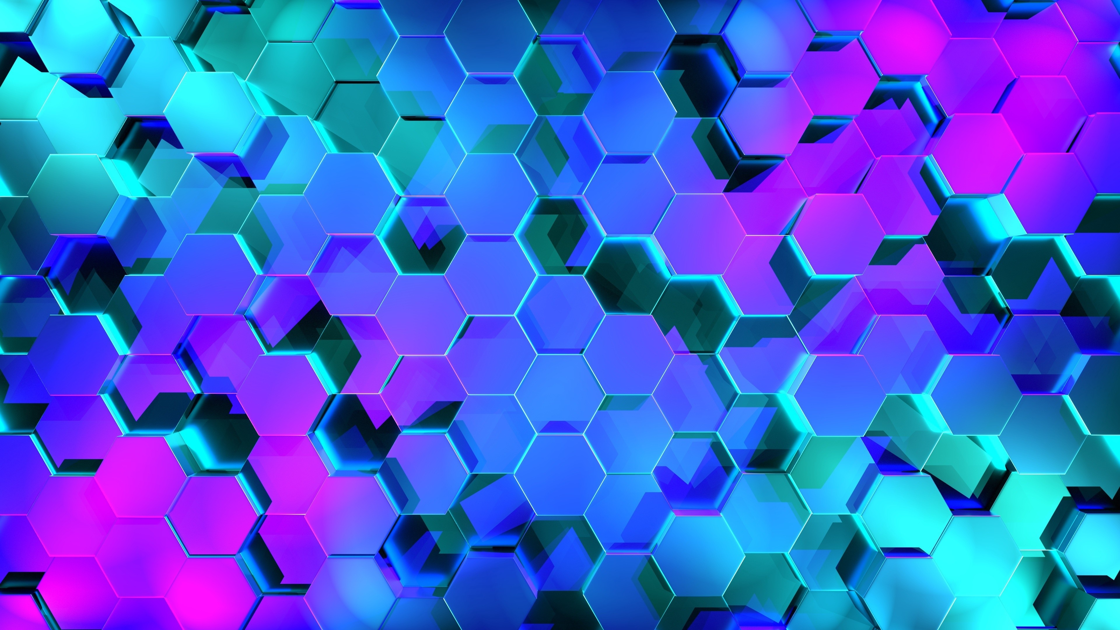Res: 3840x2160, 3D Honeycomb Pattern Wallpaper | Wallpaper Studio 10 | Tens of thousands HD  and UltraHD wallpapers for Android, Windows and Xbox