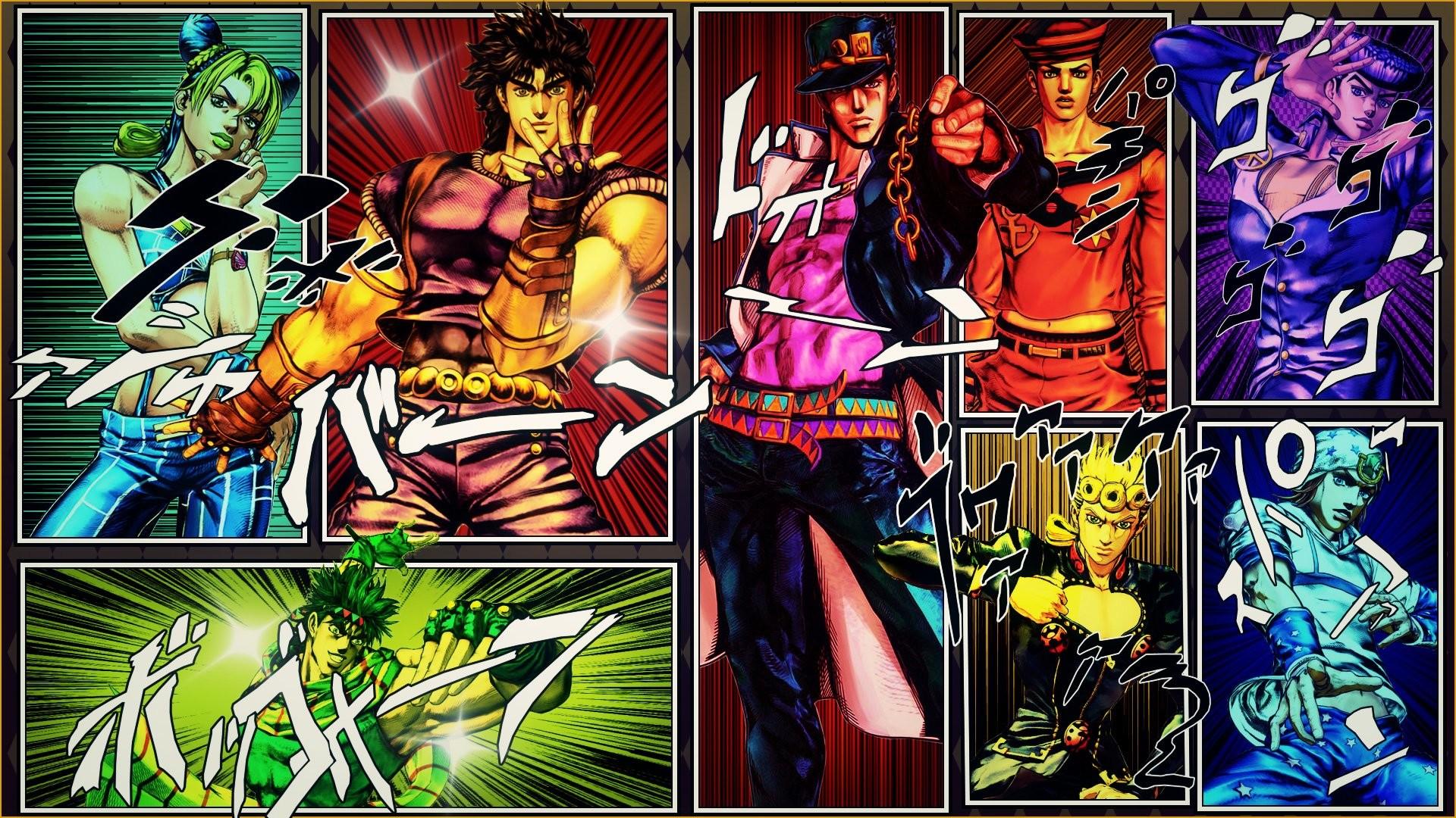 Res: 1920x1080, HD Wallpaper | Background Image ID:755323.  Anime Jojo's Bizarre  Adventure