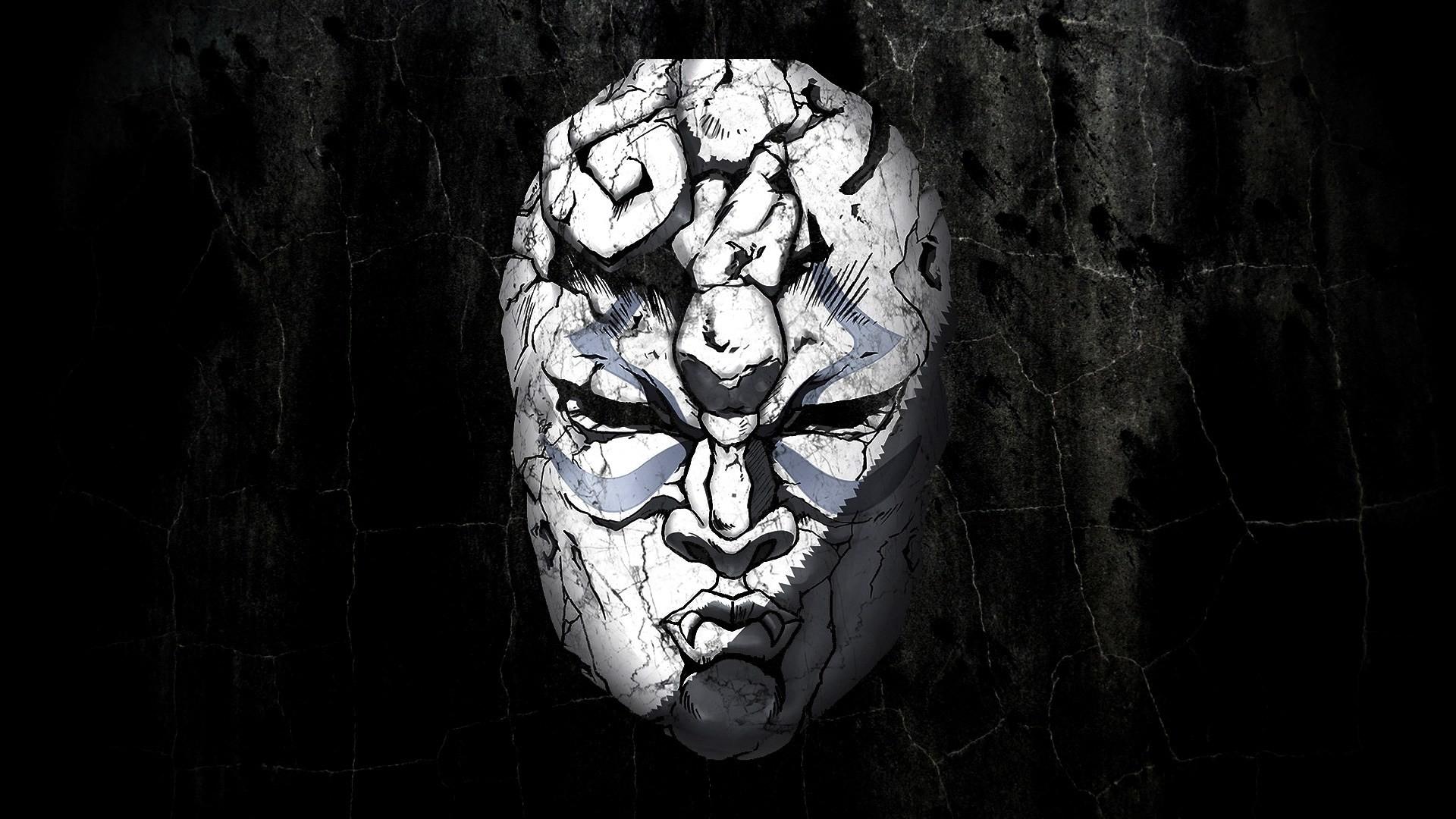 Res: 1920x1080, Mask JoJo's Bizarre Adventure 1080p HD Wallpaper Background