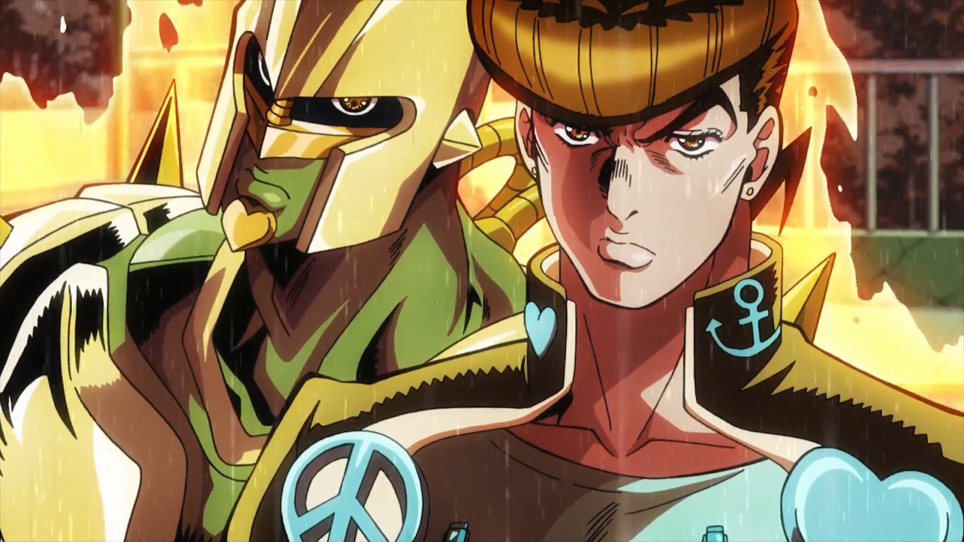 Res: 1920x1080, Josuke with Crazy D.png