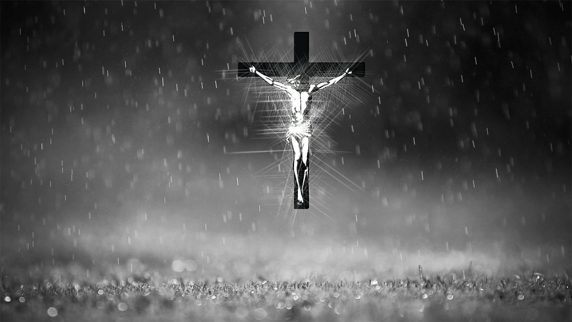 Res: 1920x1080, Jesus on the cross religion wallpaper