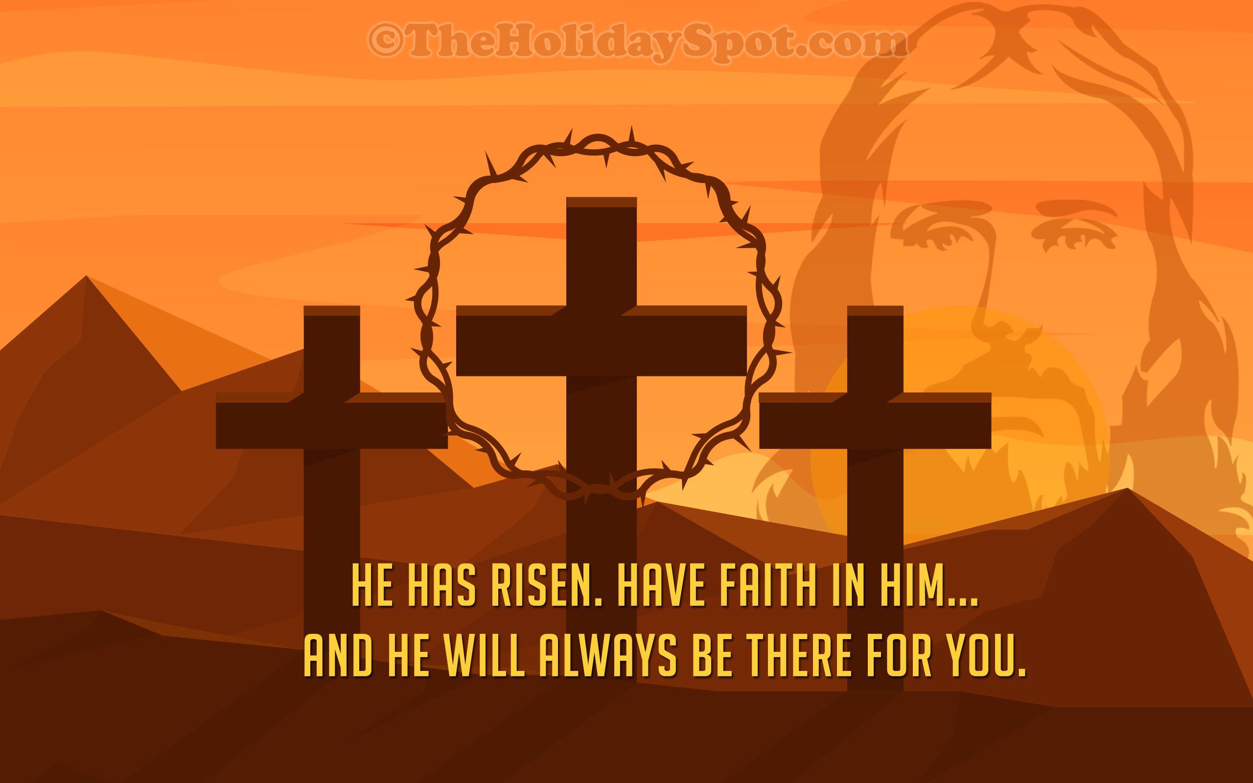 Res: 2560x1600, Easter Wallpaper - He has risen