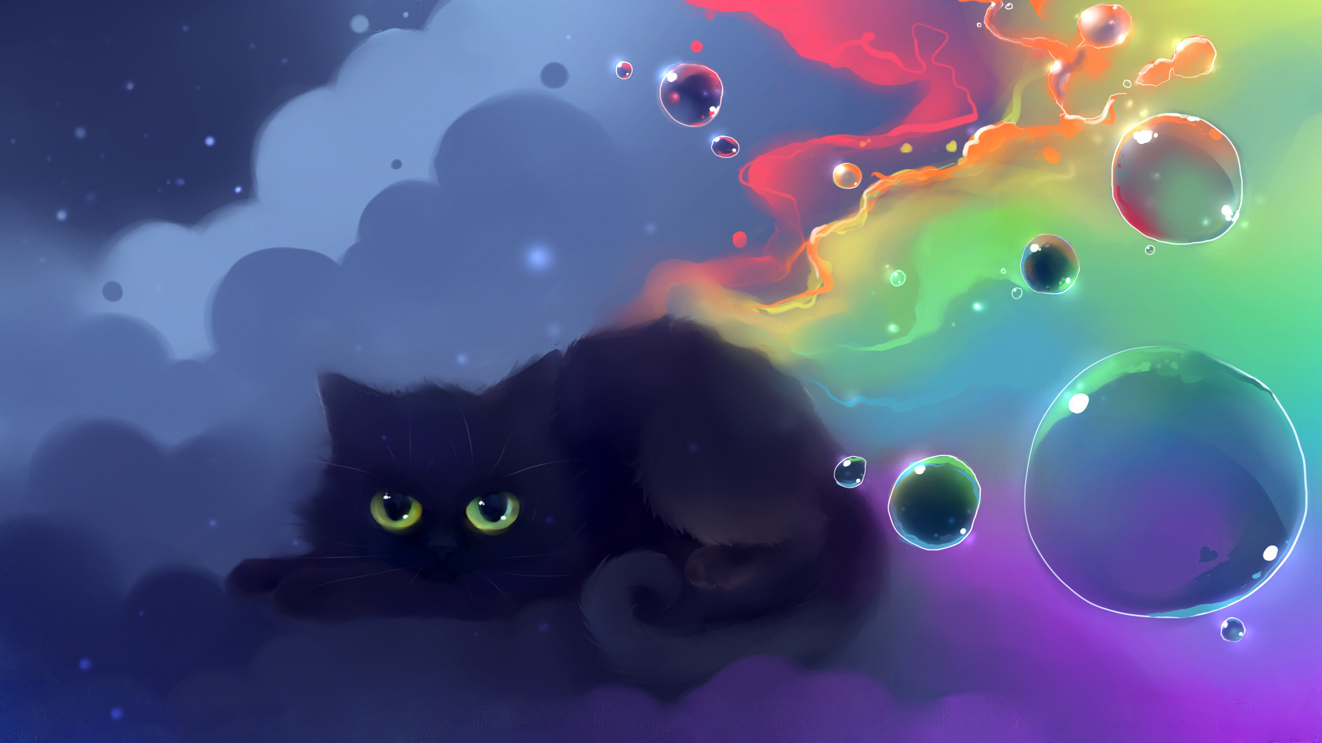 Res: 1920x1080, Wide Cat Wallpapers