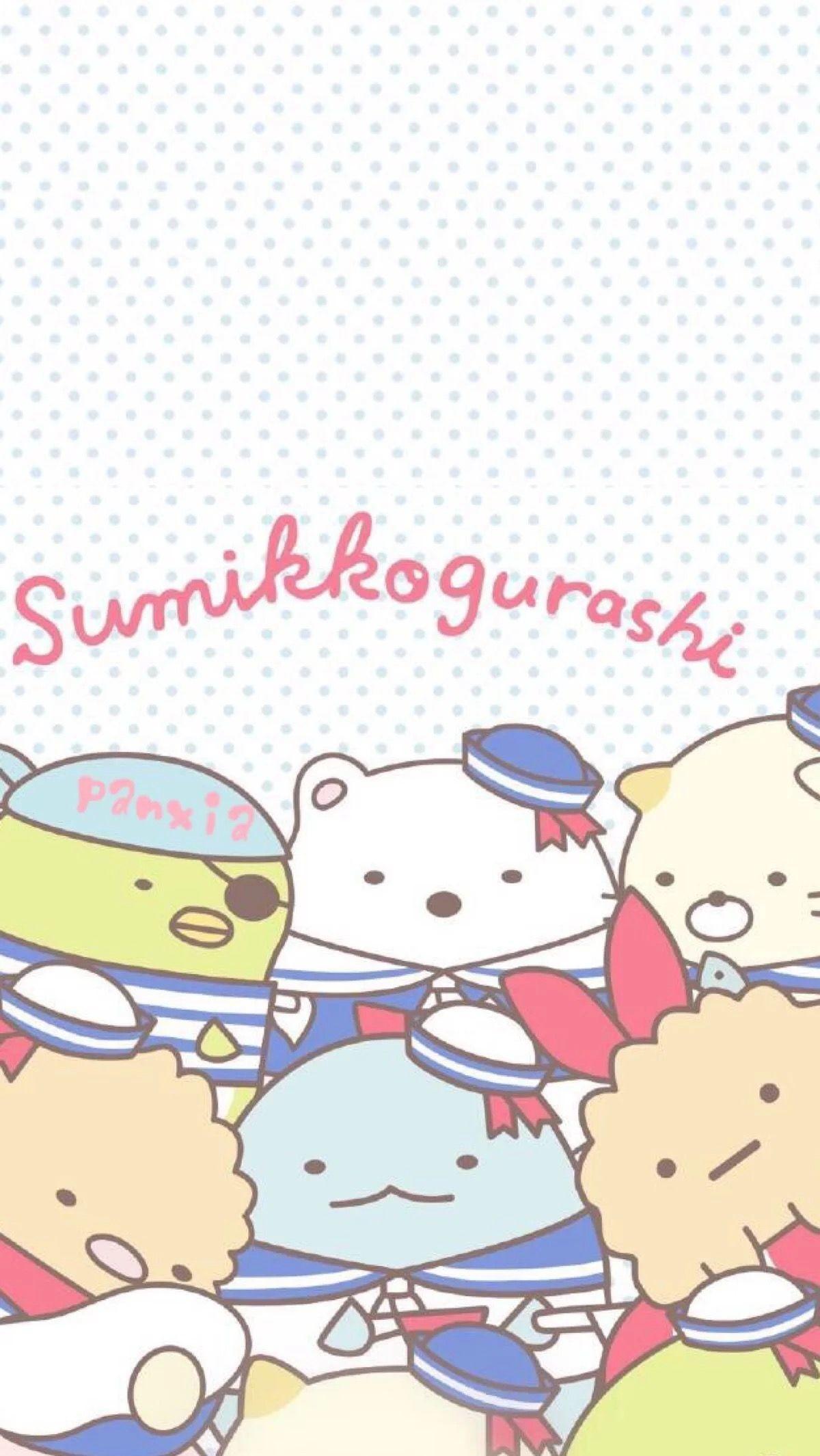 Res: 1200x2130, Sumikko gurashi sailors phone wallpaper