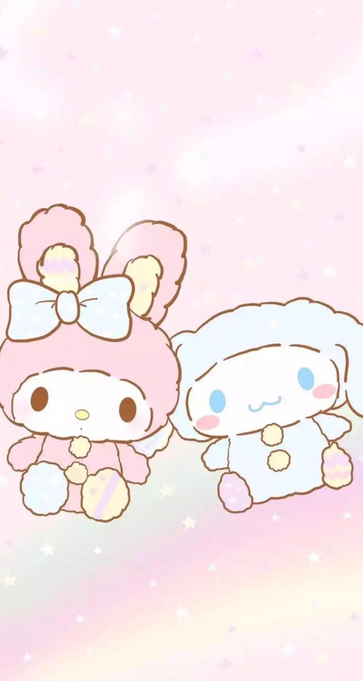 Res: 1256x2353, My Melody and Cinnamoroll