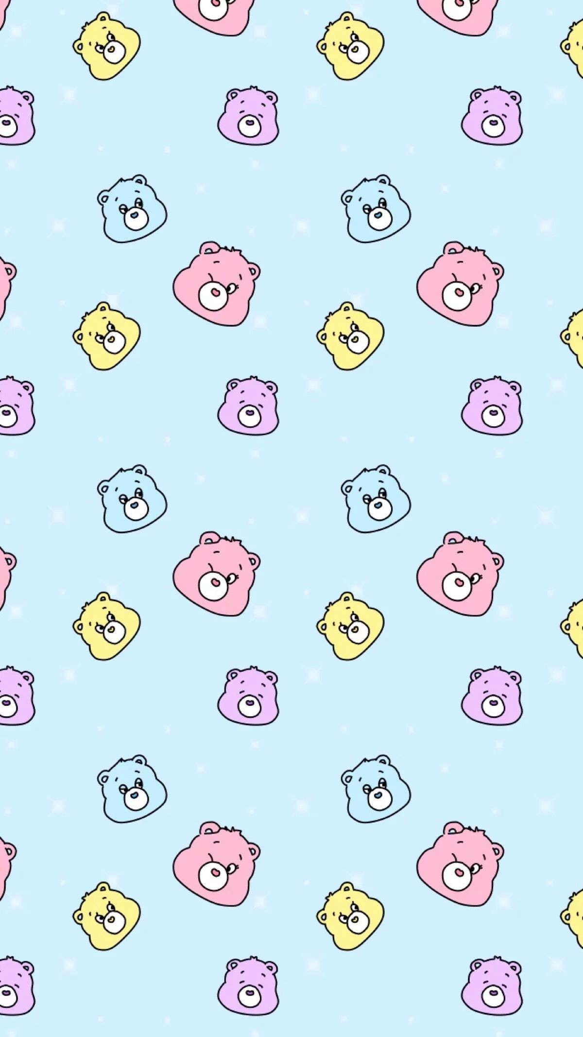 Res: 1200x2133, Bear Wallpaper, Kawaii Wallpaper, Ipod Wallpaper, Wallpaper Size, Lock  Screen Wallpaper, Wallpaper Patterns, Pastel Wallpaper, Cartoon Background,  ...