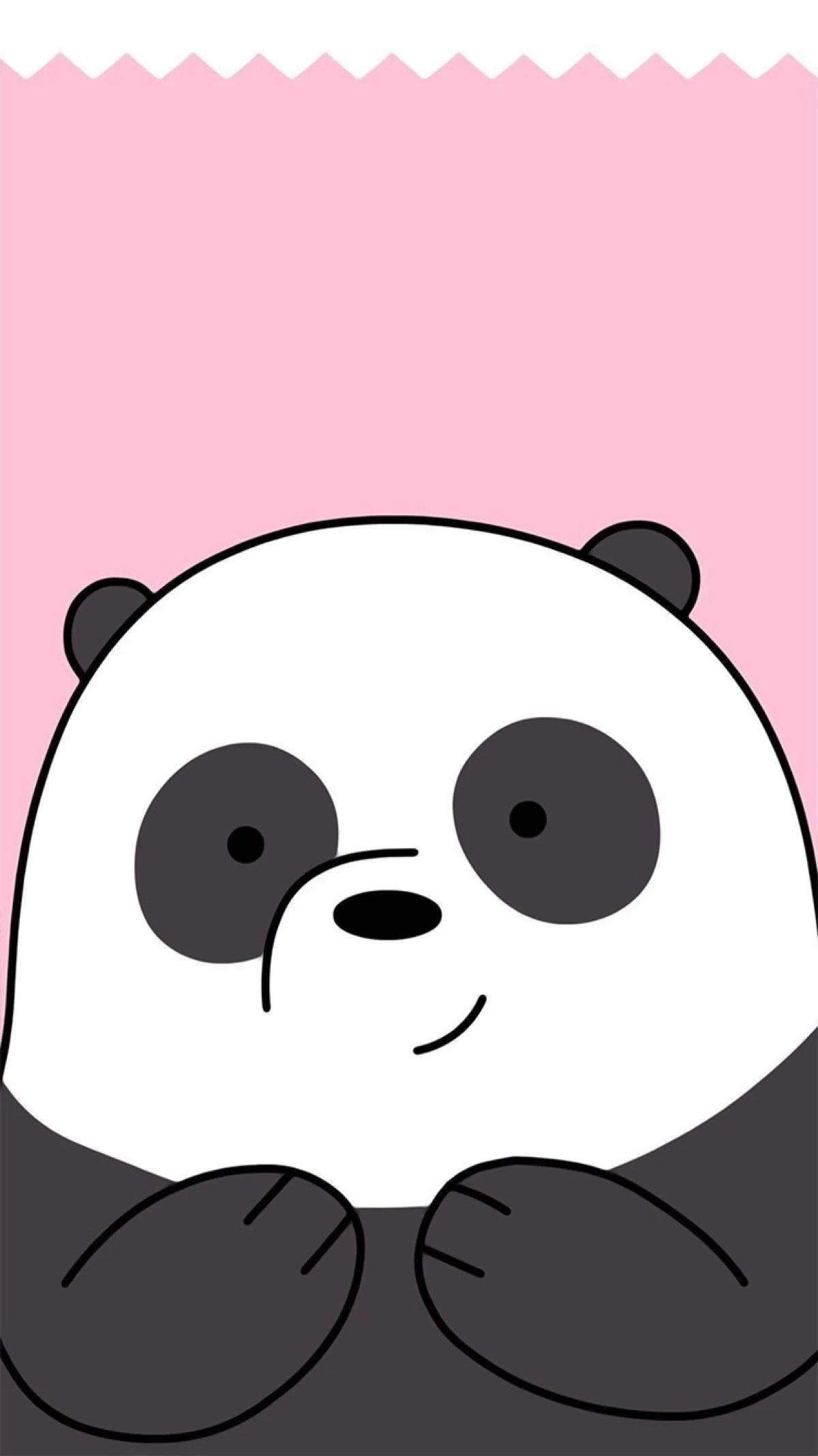 Res: 1200x2134, Cute Wallpapers, Iphone Wallpapers, Album, Bare Bears, Animal Drawings,  Panda, Samsung, Kawaii, Phone Wallpapers