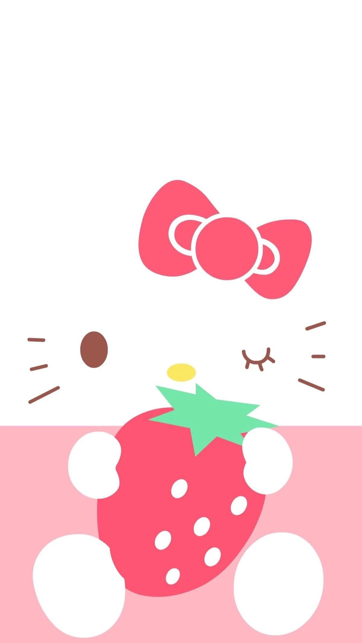 Res: 1200x2133, Kitty Wallpaper, Iphone Wallpapers, Sanrio, Pretty Pictures, Phone Case,  Polo, Kawaii, Backgrounds, Recipes