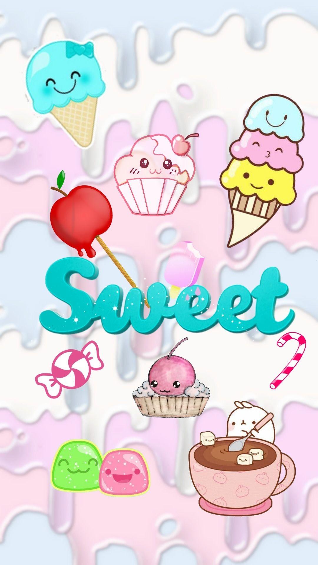 Res: 1080x1920, sweet cute wallpaper for phone - kawaii iphone