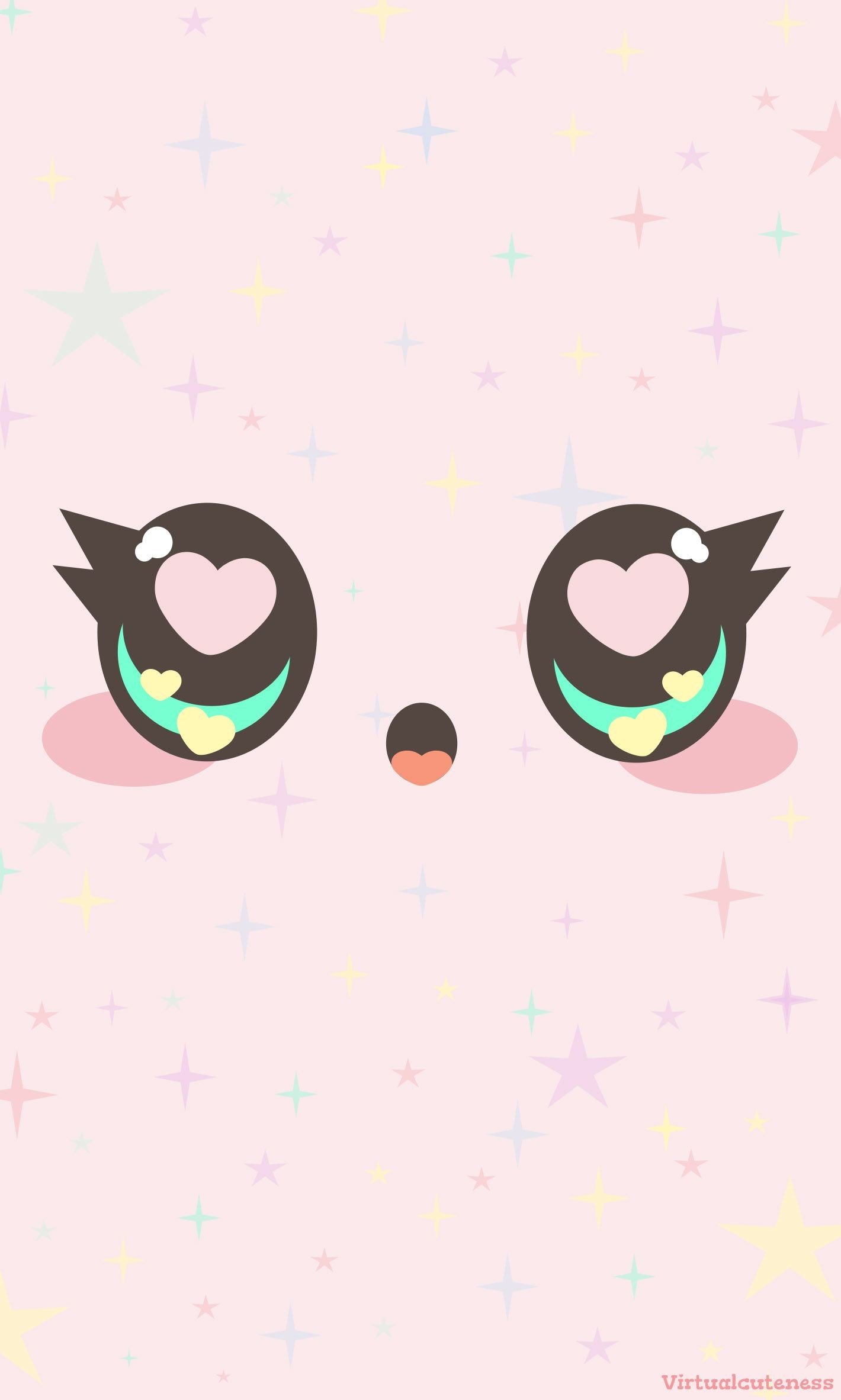 """Res: 1420x2365, As my shop name suggests, I absolutely adore kawaii things! So I wanted to  share my love for """"kawaii"""" by creating this free Phone Wallpaper for you!"""