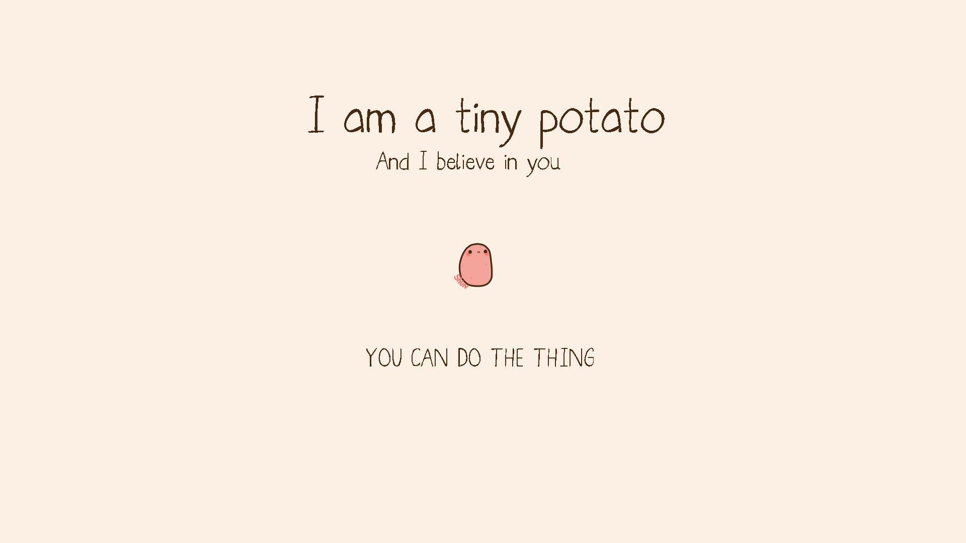 Res: 1920x1080, AYA89: Kawaii Potato Wallpaper  Download