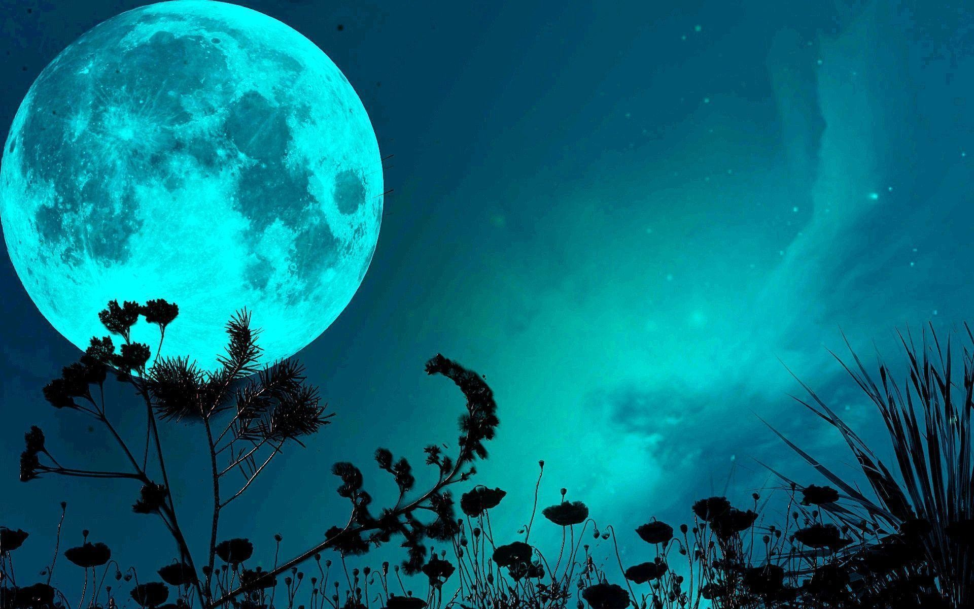 Res: 1920x1200, Blue Moon Wallpapers - Full HD wallpaper search