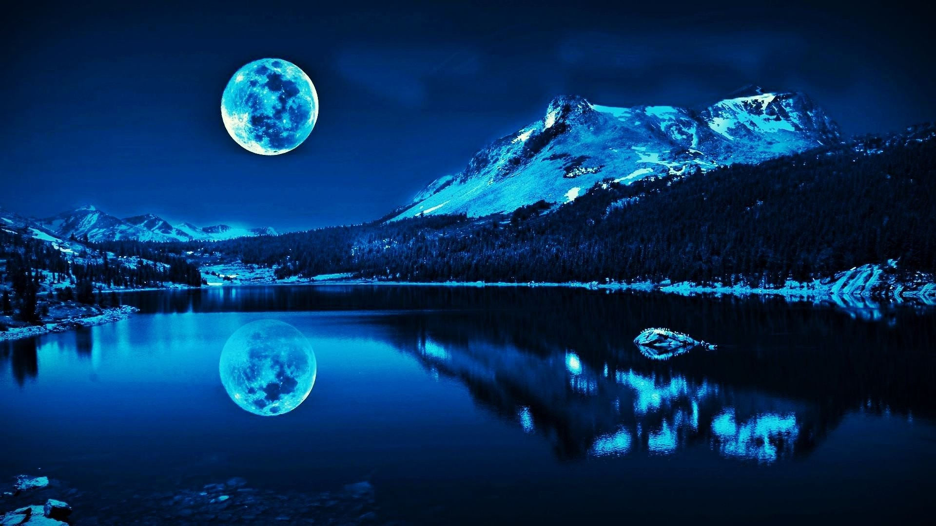 Res: 1920x1080, blue moon 787084