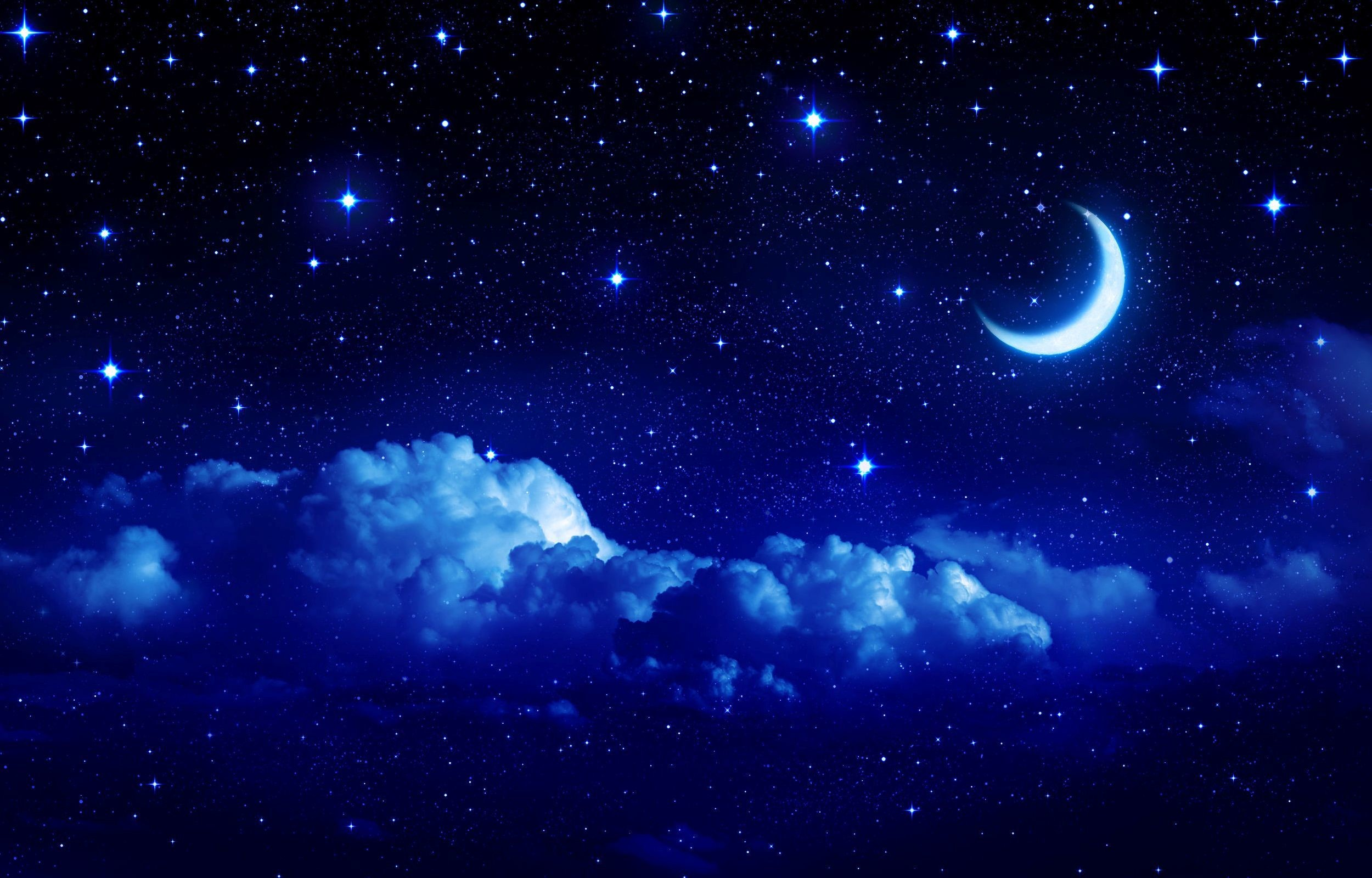 Res: 2500x1600, Crescent Moon wallpapers free