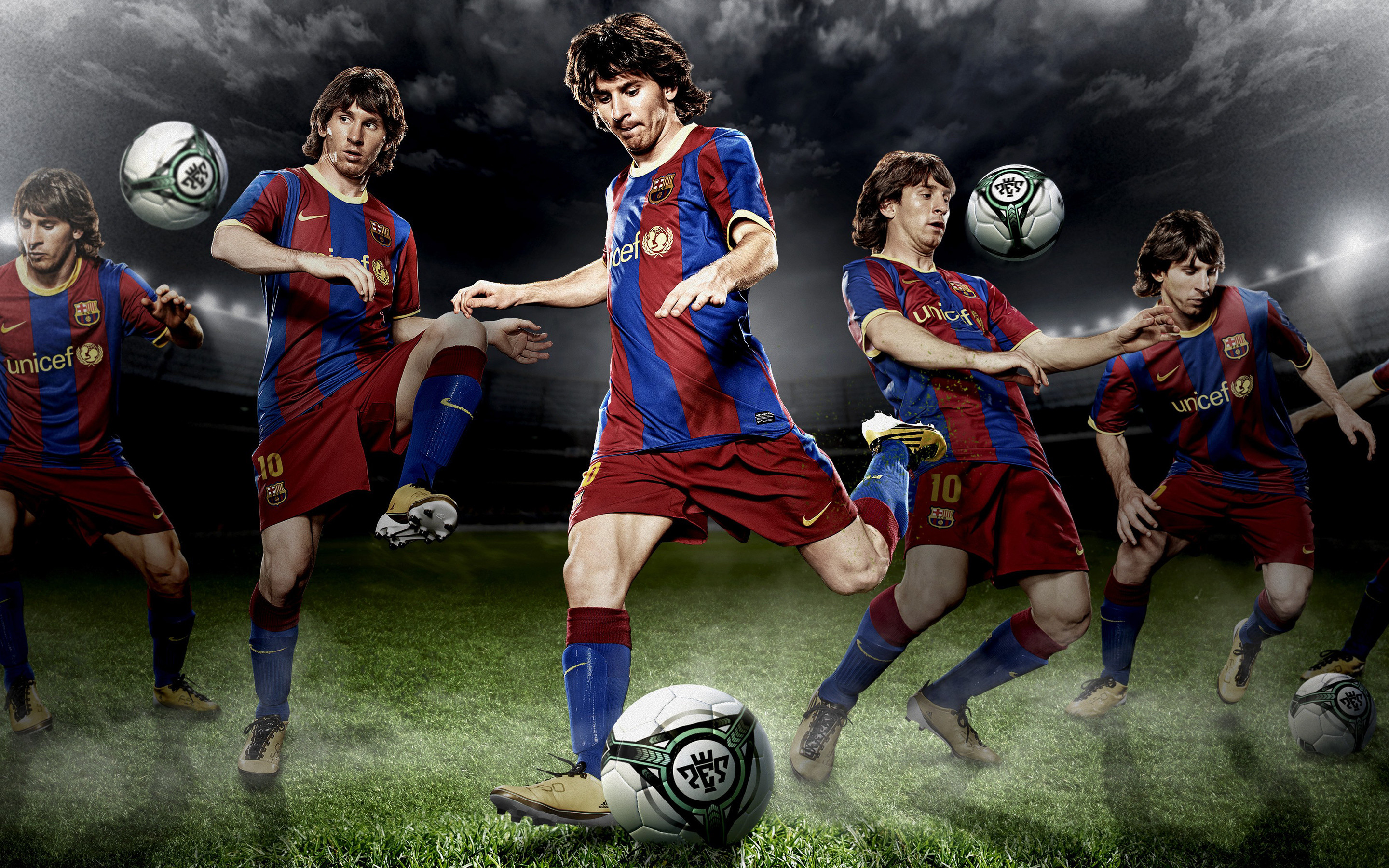 Res: 2880x1800, Soccer player Lionel Messi 4K