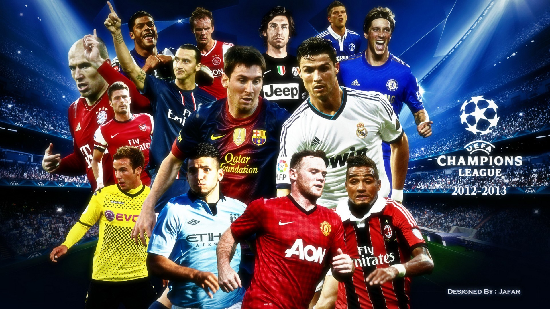 Res: 1920x1080, soccer · Champions League · Uefa Champions League · football · football  players