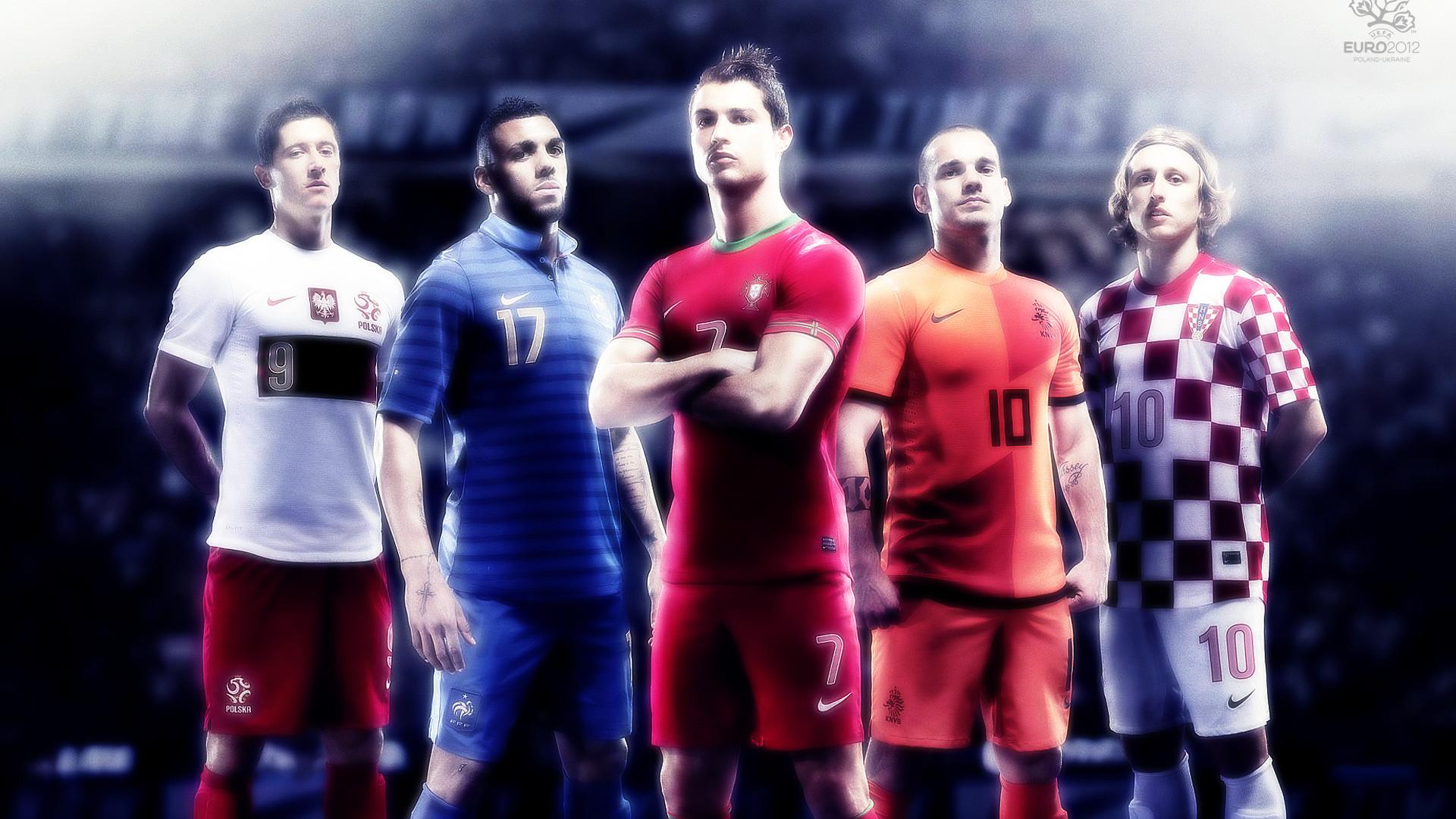 Res: 1920x1080, euro 2012 football soccer players teams portugal poland france nederlands  croatia