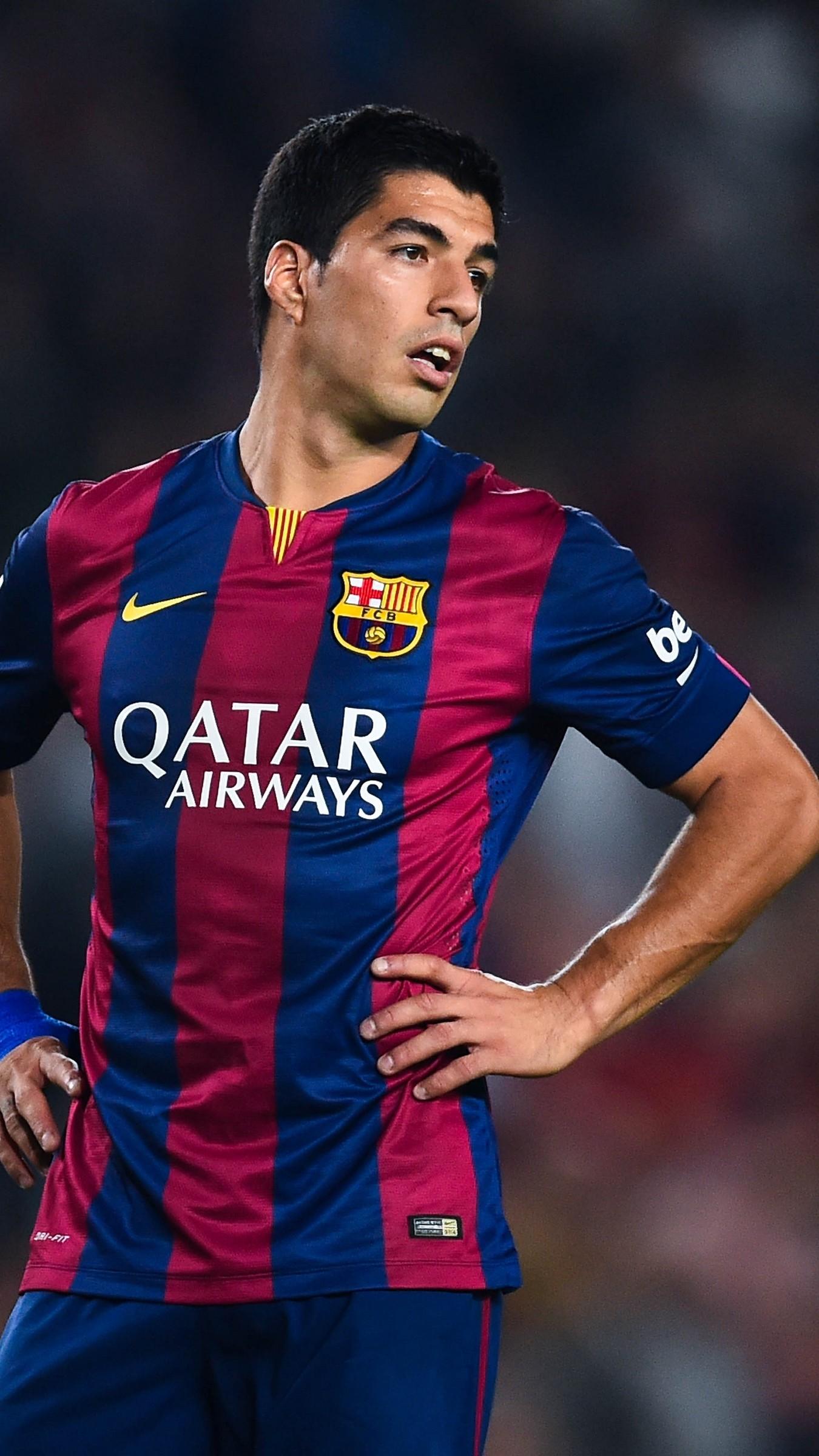 Res: 1350x2400,  Wallpaper luis suarez, striker, barcelona, soccer