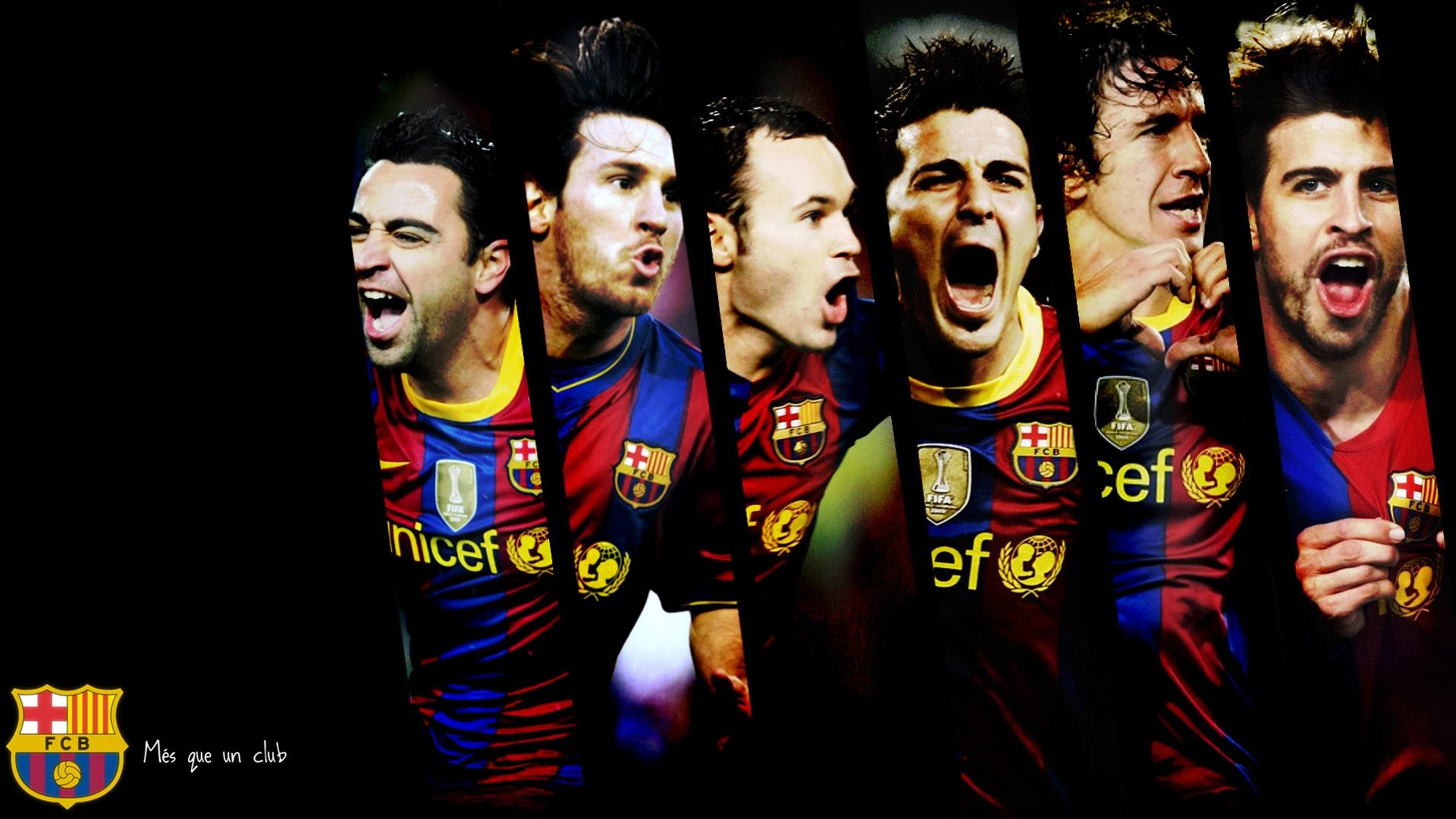 Res: 1920x1080, FC Barcelona Players Wallpapers