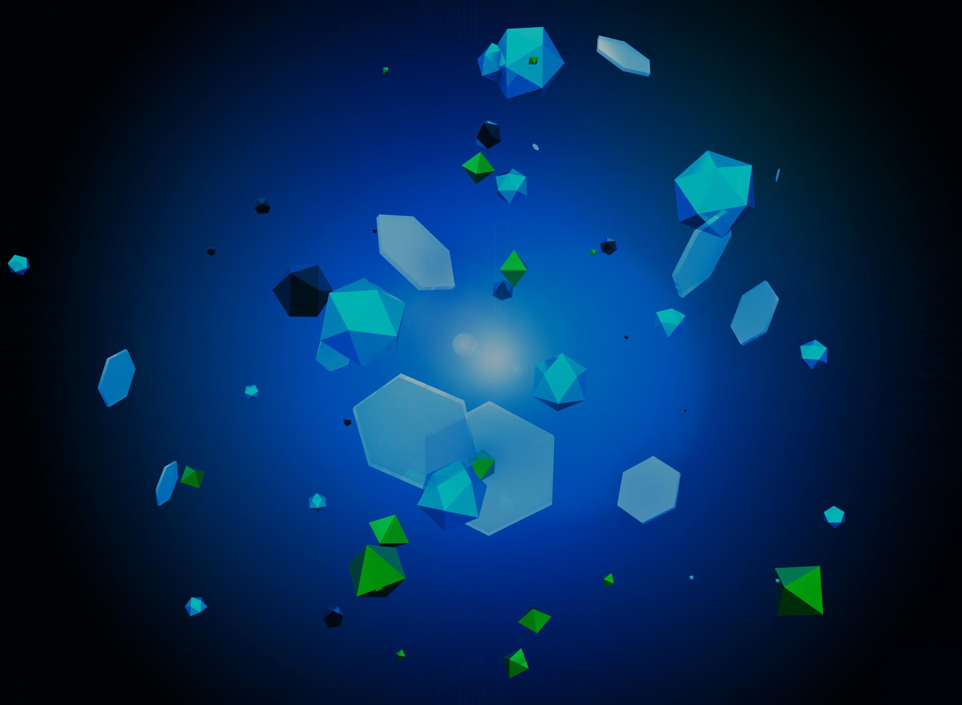 Res: 1920x1408, Blue crystal wallpaper